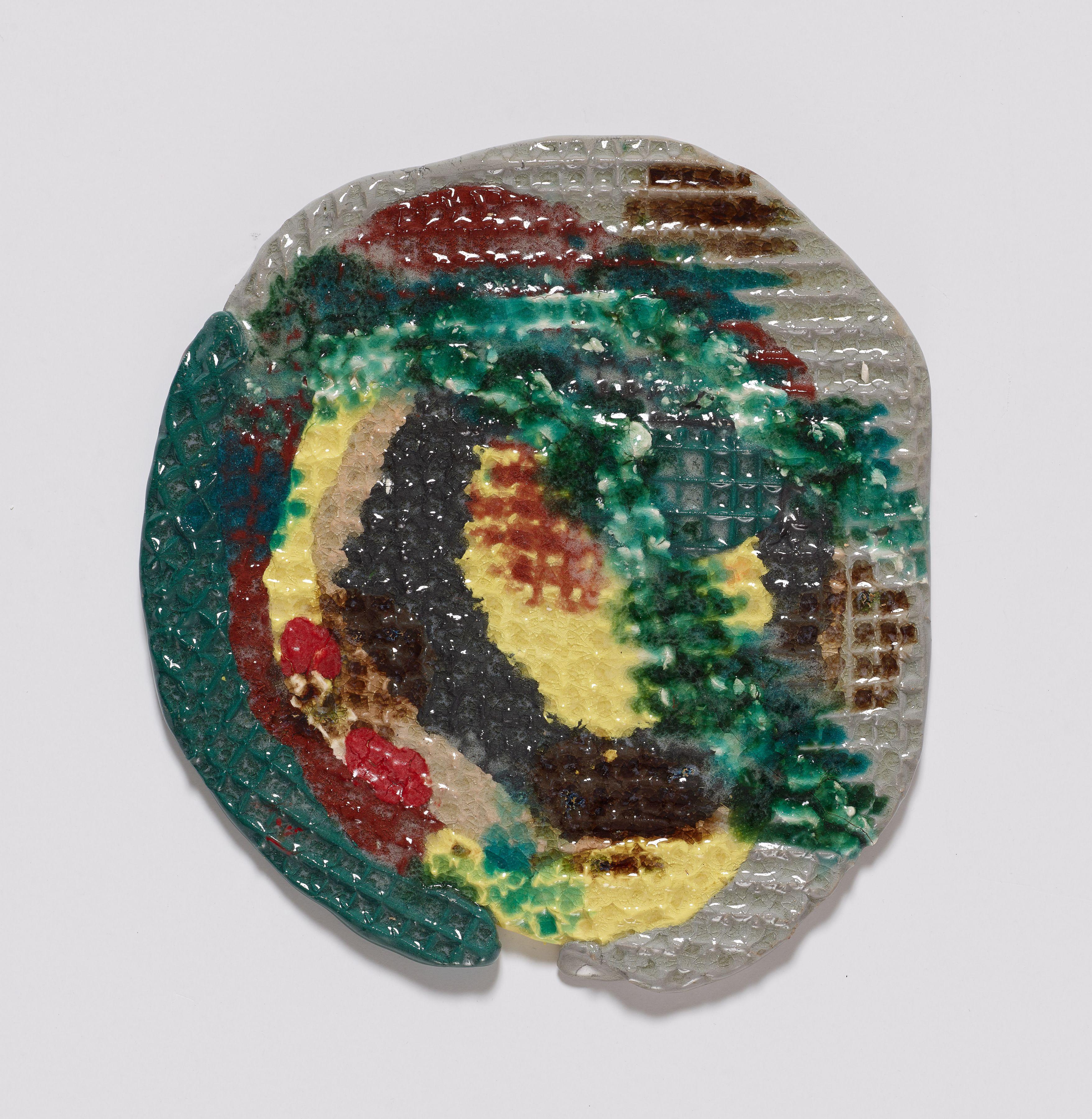 Morris, 2015, Colored porcelain and glaze