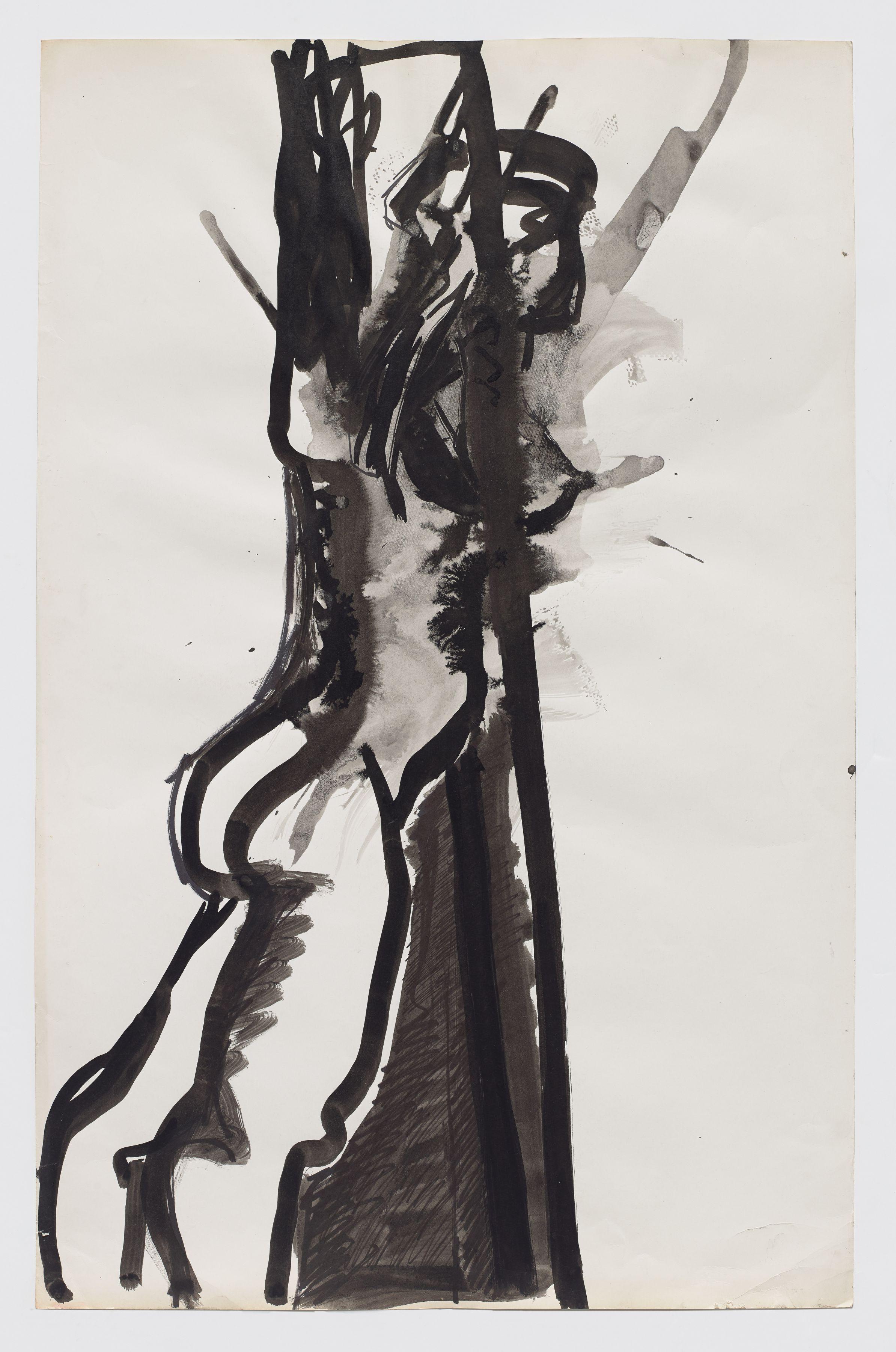 Joan Semmel, Untitled (figure study), c. 1971