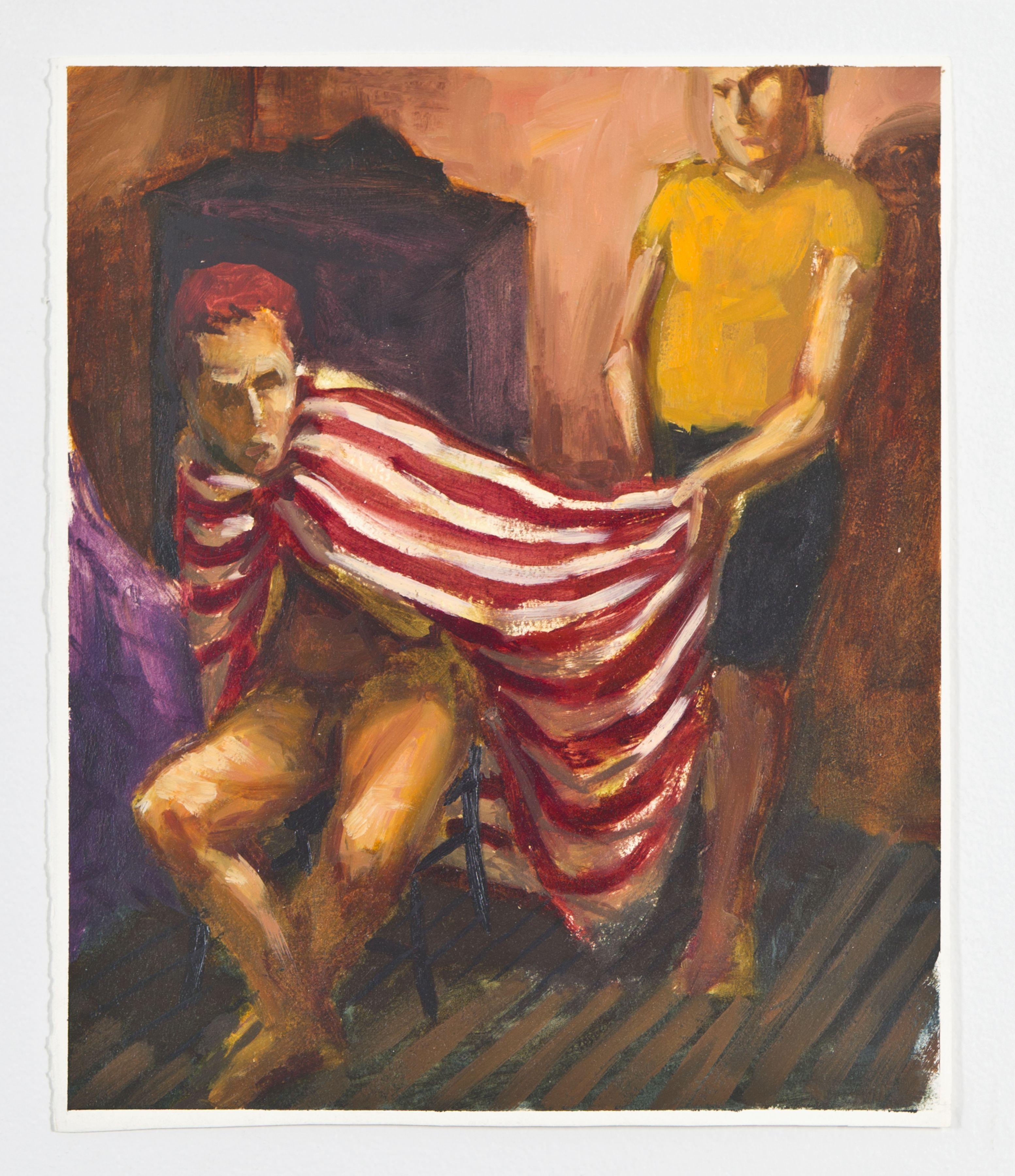 Red & White Sheet, 1988