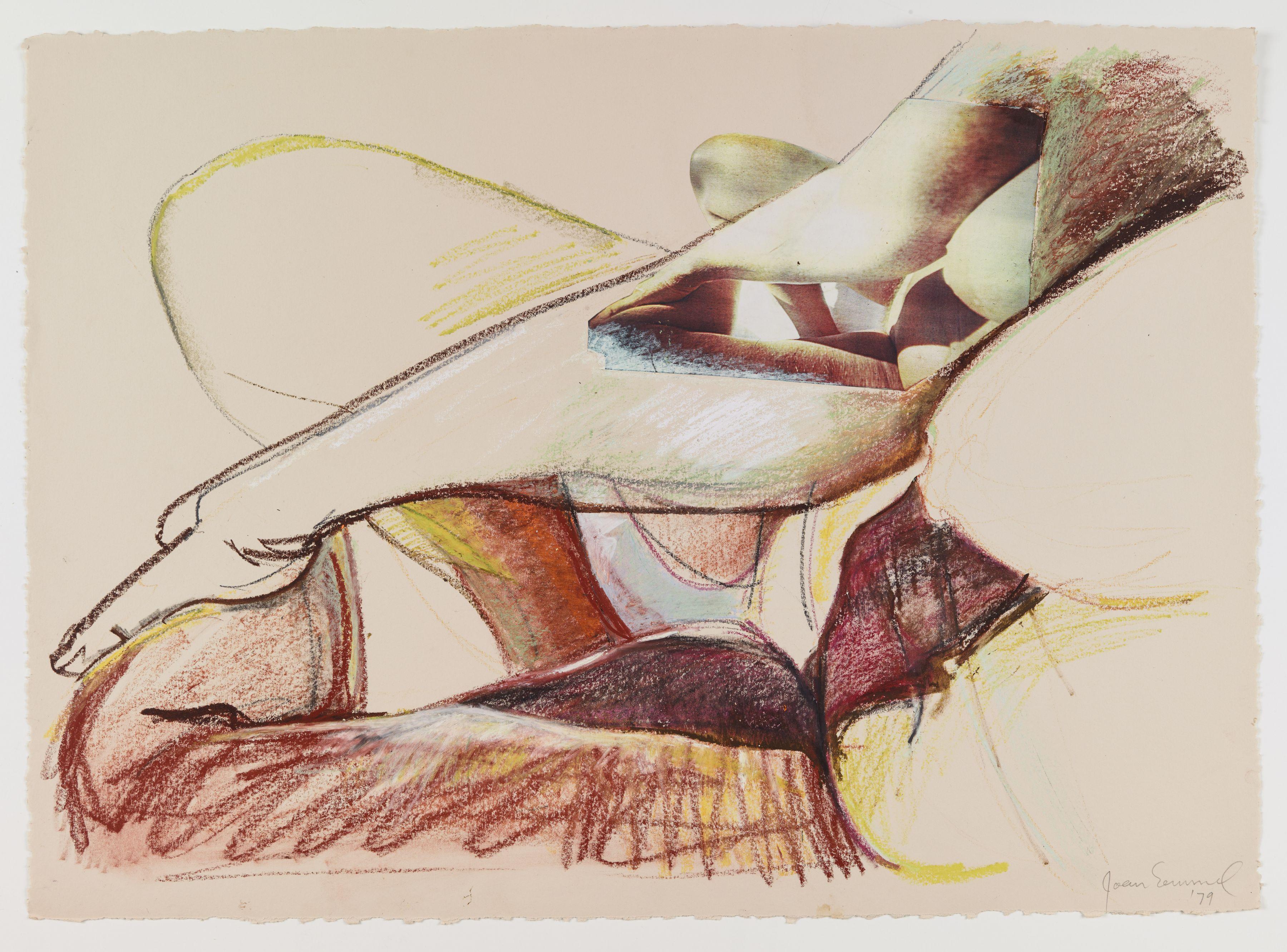 Joan Semmel, Study for Night Light, 1979