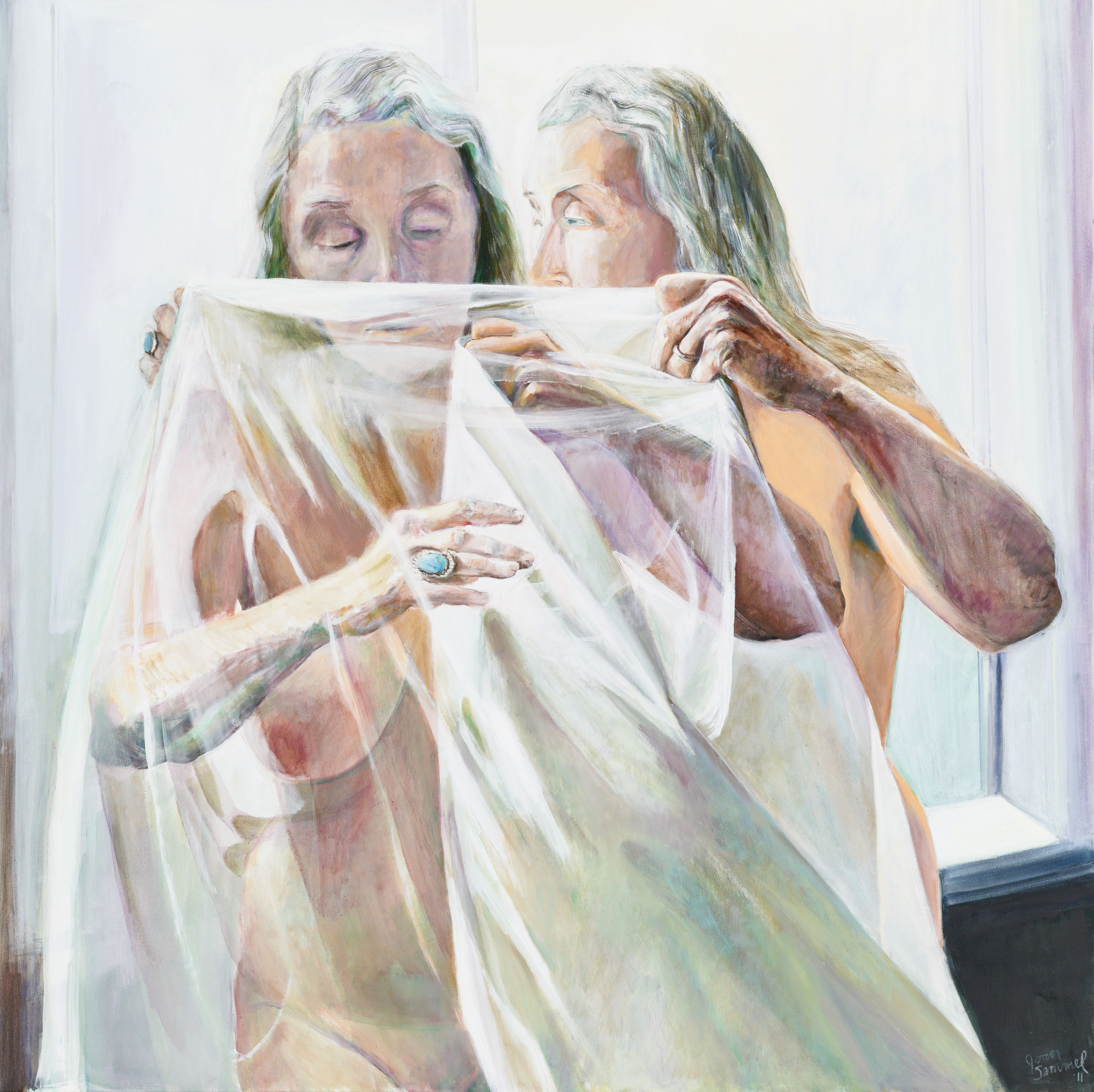 Unveiling, 2011, Oil On Canvas