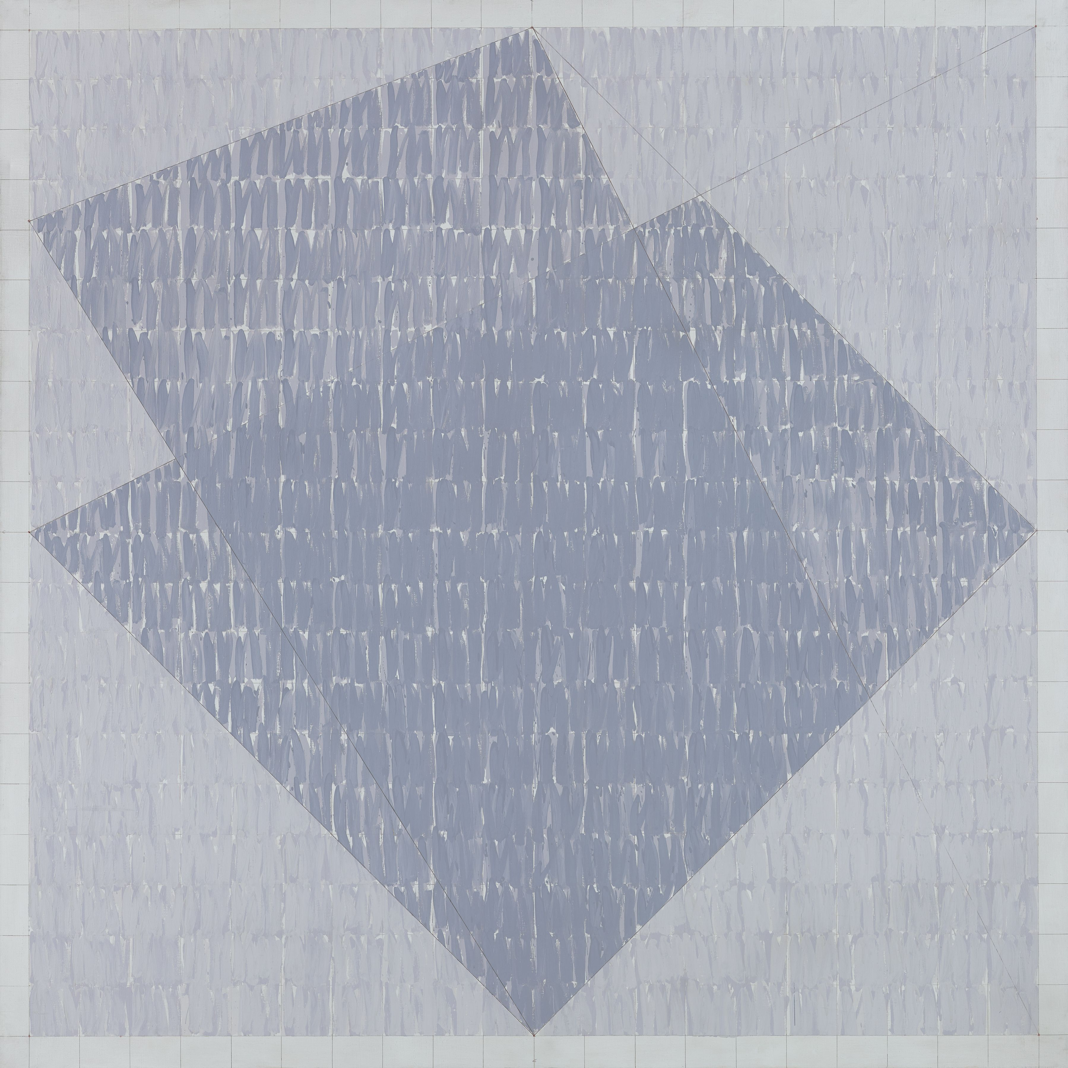Q2-76 #1, 1976, Oil on canvas