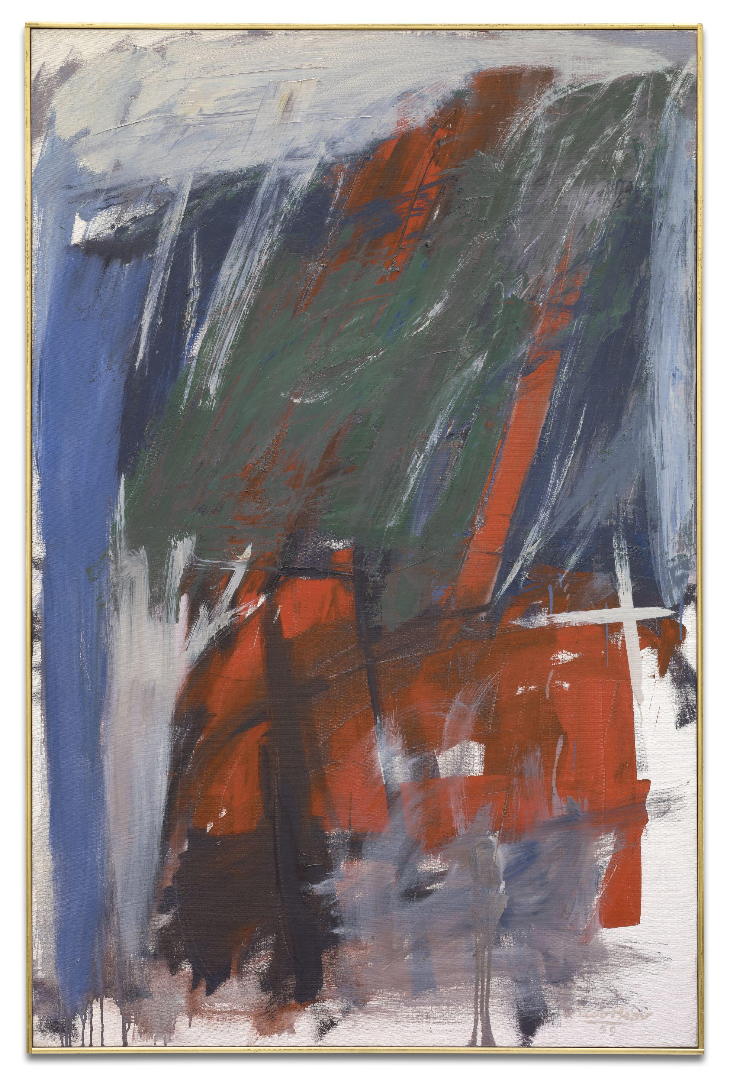 Vulcan, 1959, Oil on canvas