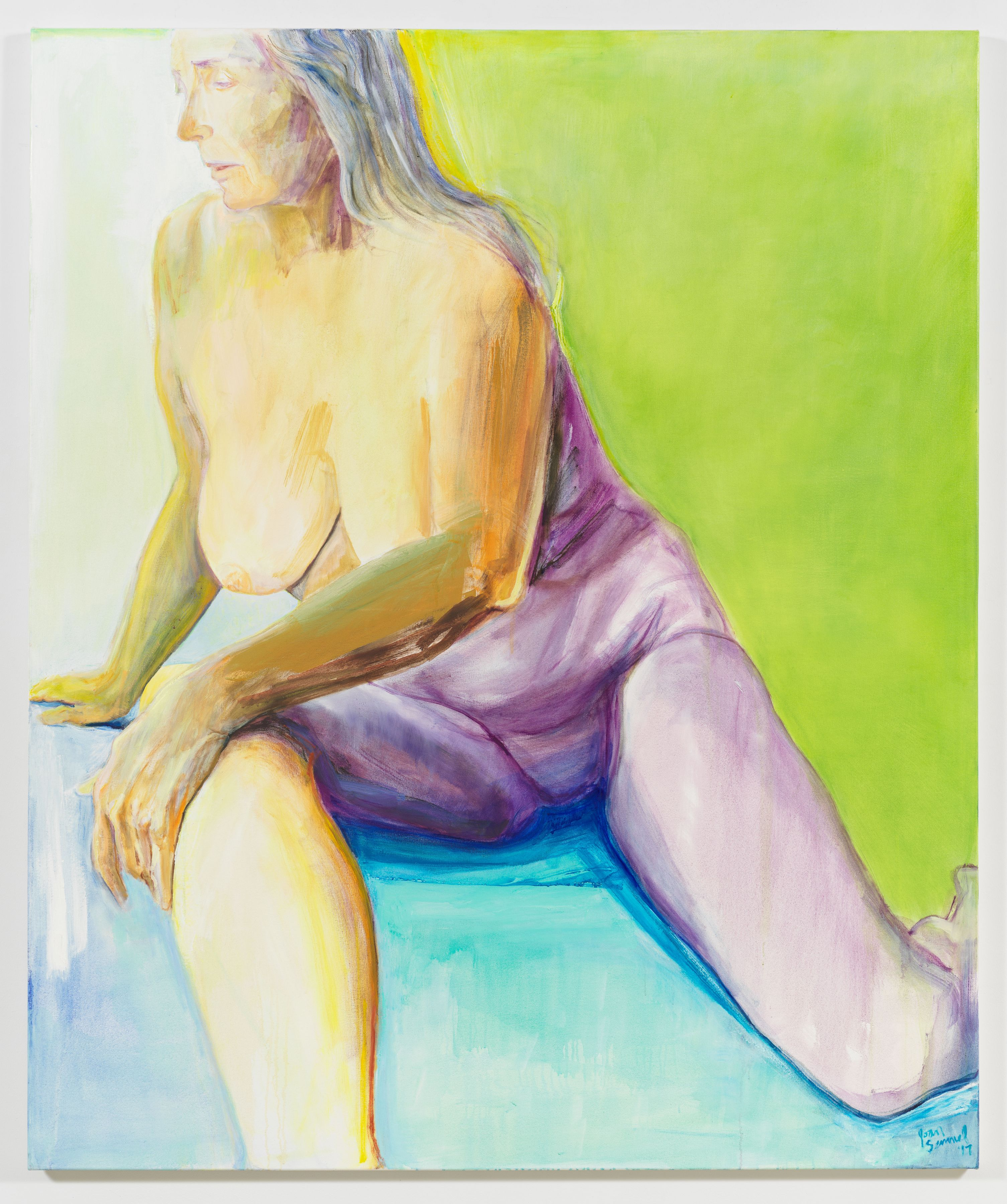 In the Green, 2017, Oil on canvas