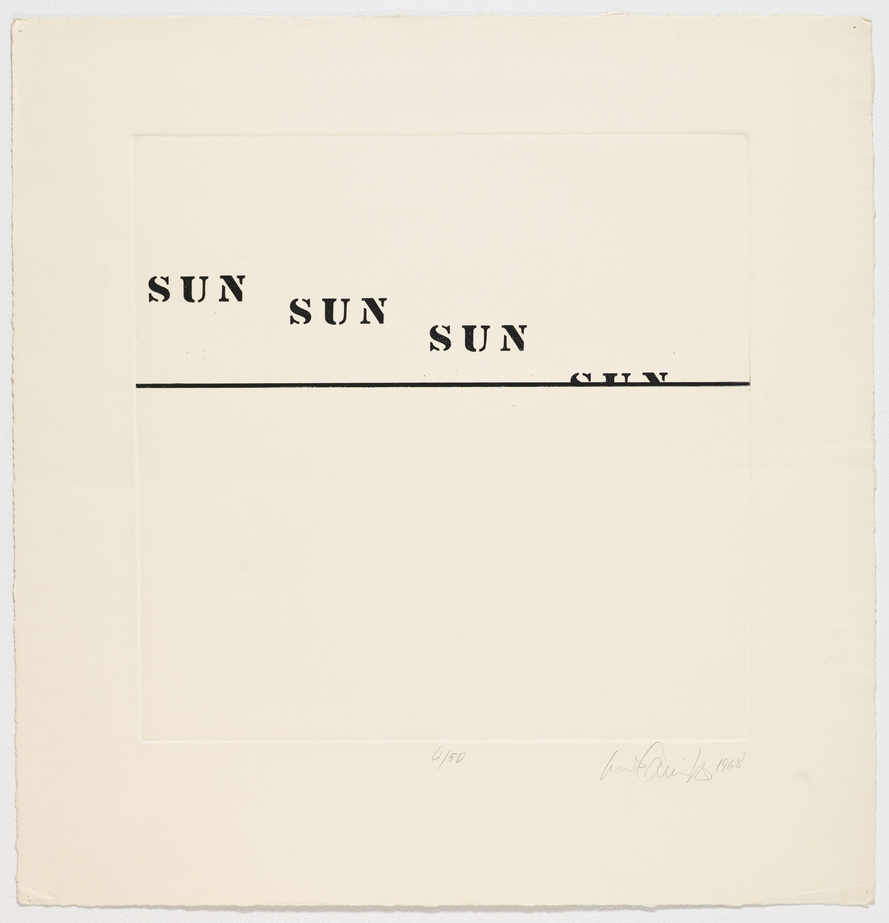 Luis Camnitzer, Untitled, 1968