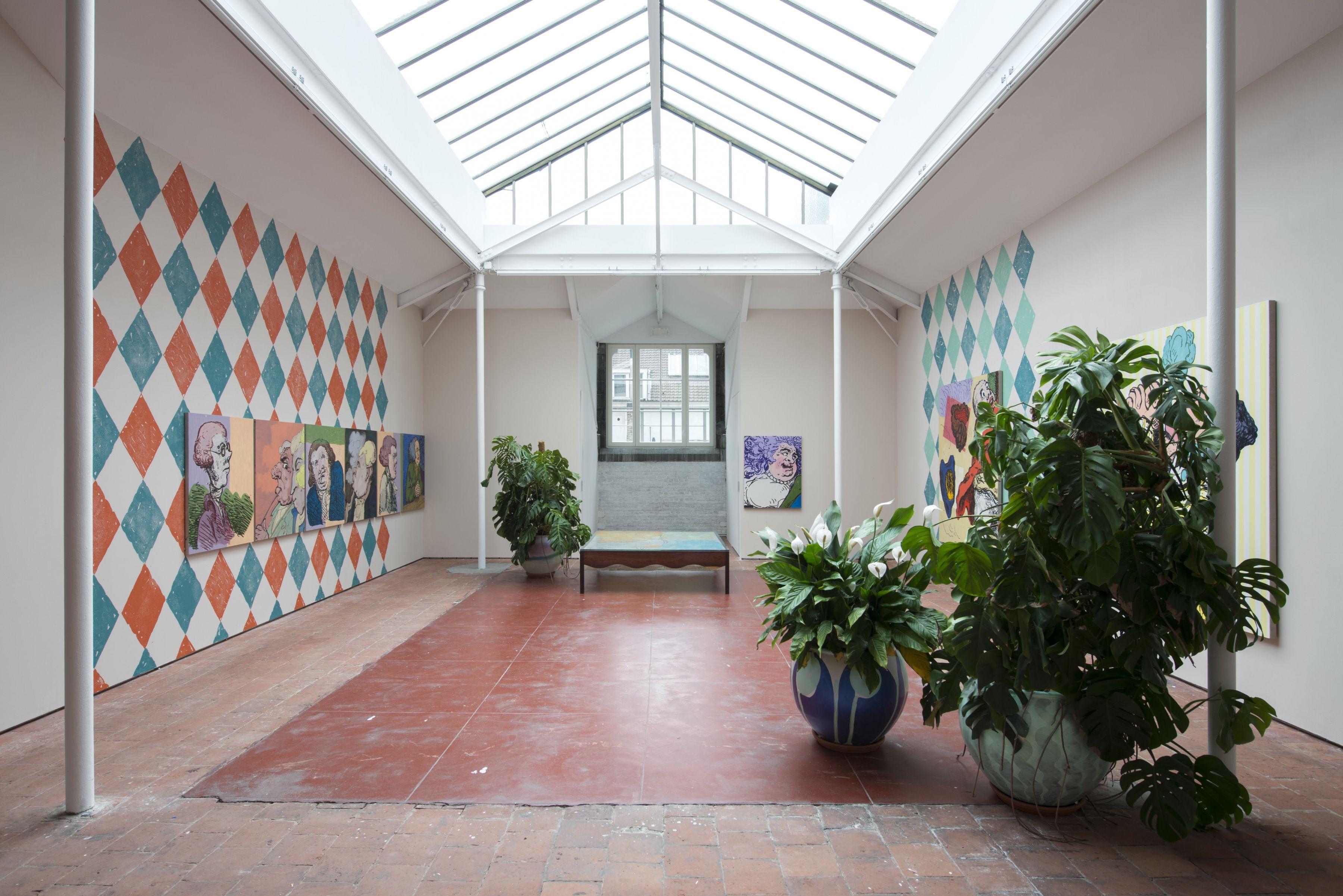 Charlie Billingham, exhibition view, Independent Régence, Brussels, 2017