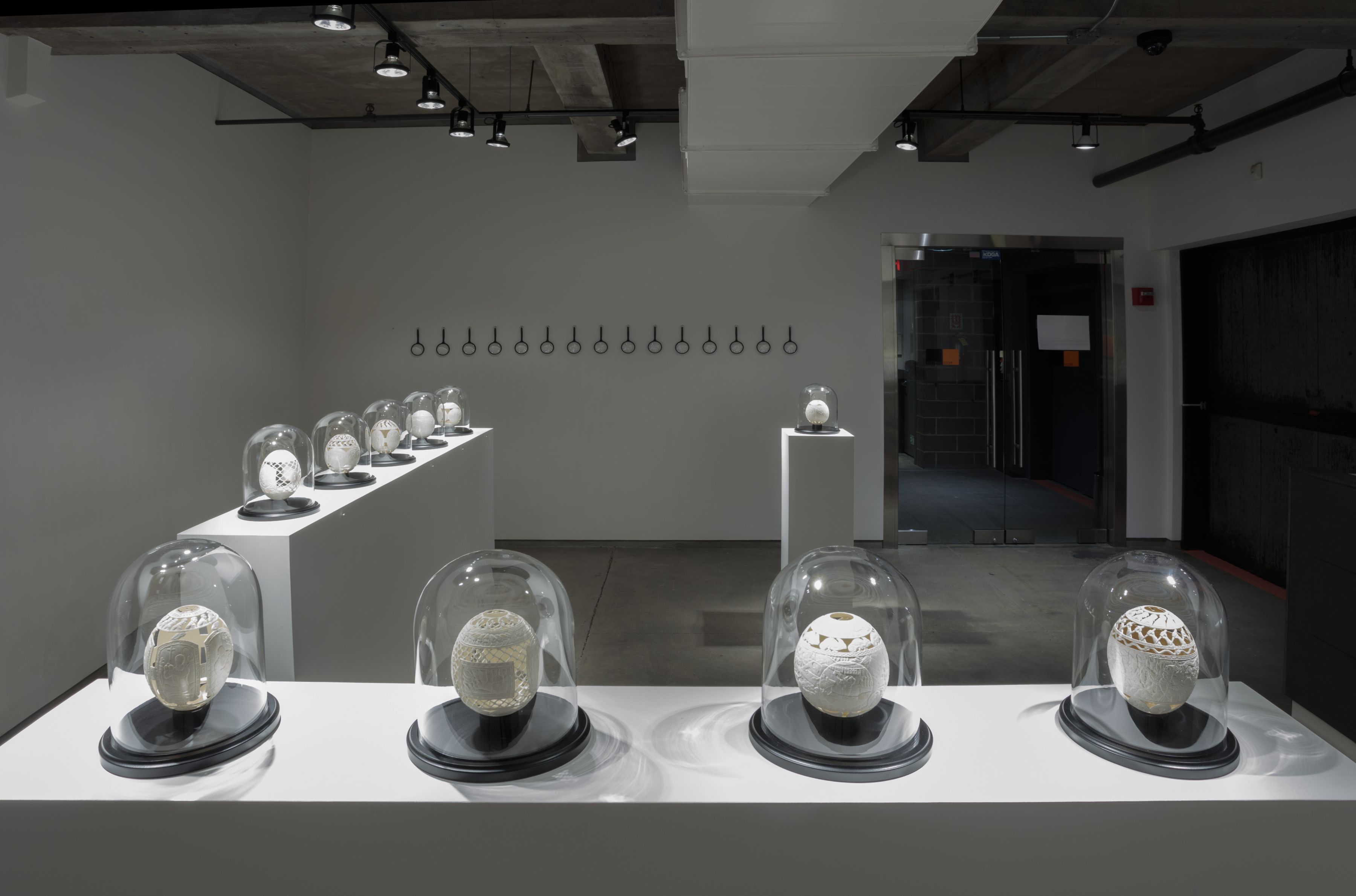 Installation view, Gil Batle at Ricco/Maresca Gallery, 2018