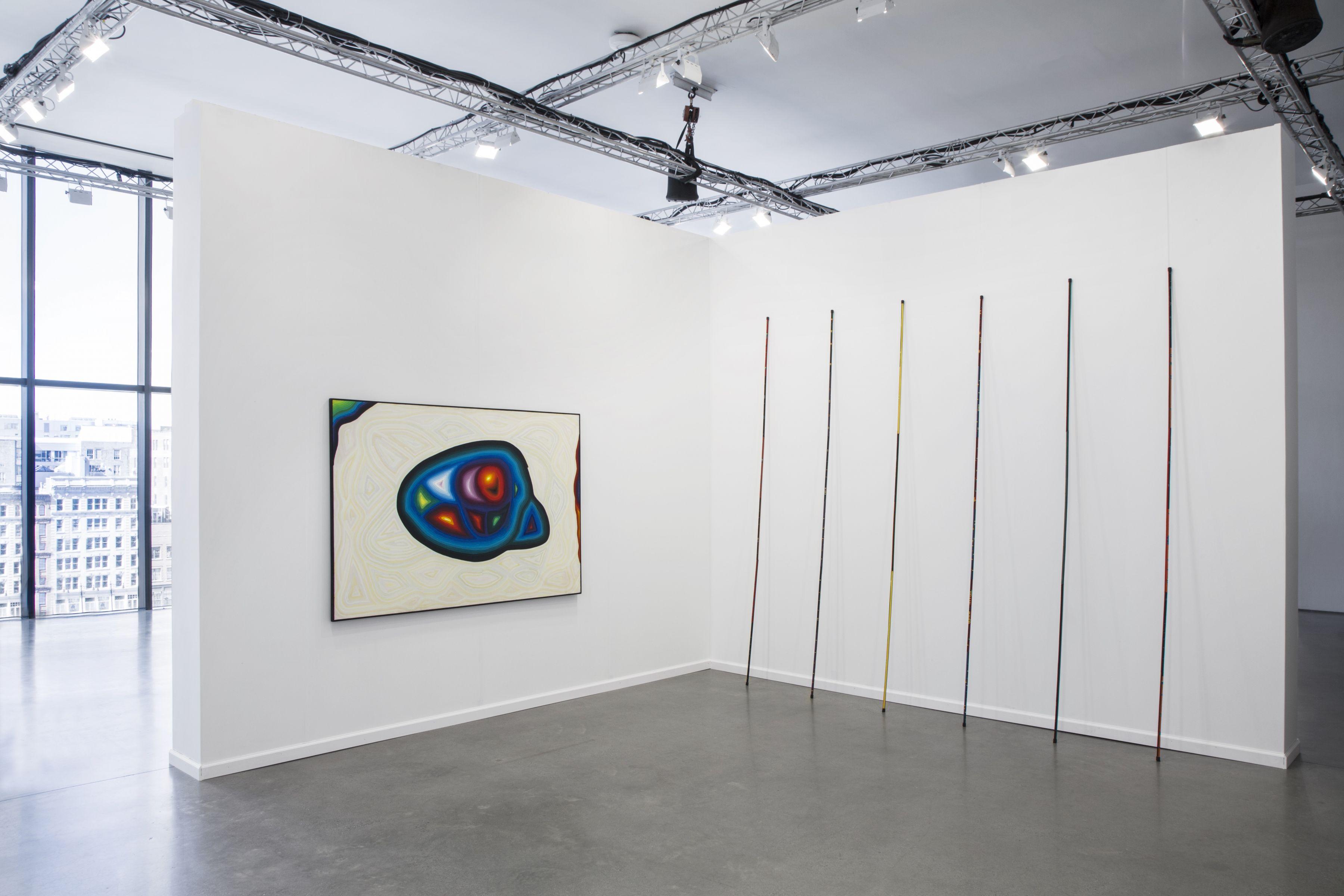 AndréCadere Hervé Bize at Independent New York 2017