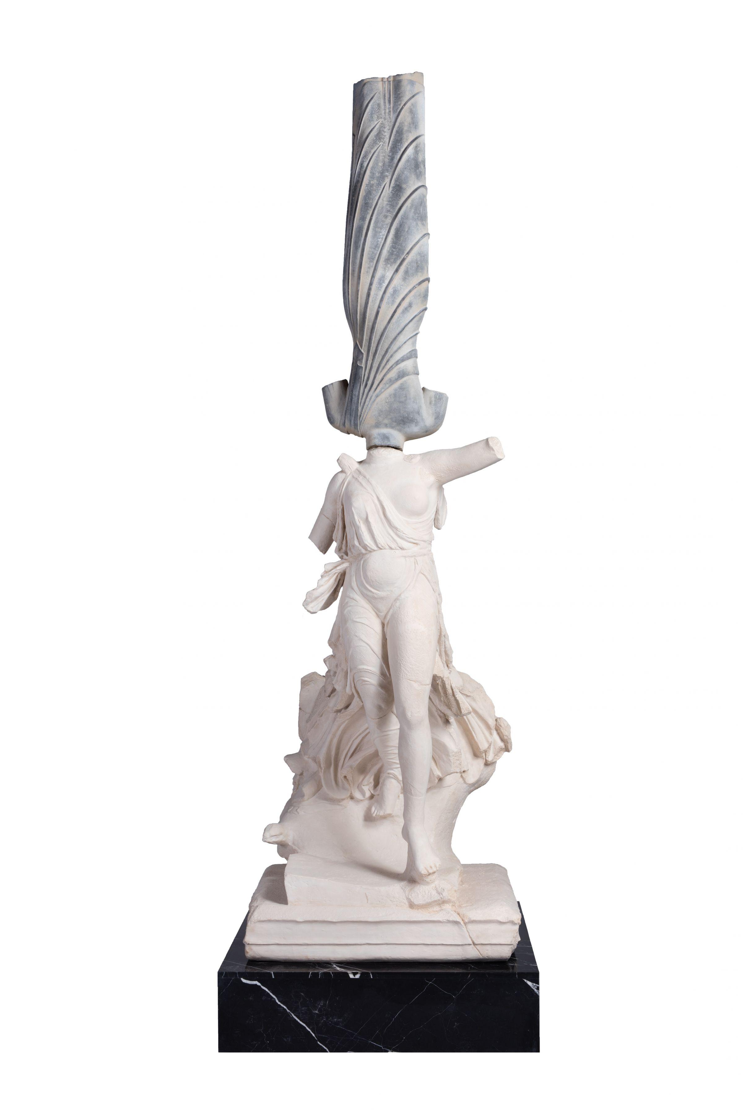 XU ZHEN Eternity - Standing Bodhisattva, Statue of Nike of Paionios
