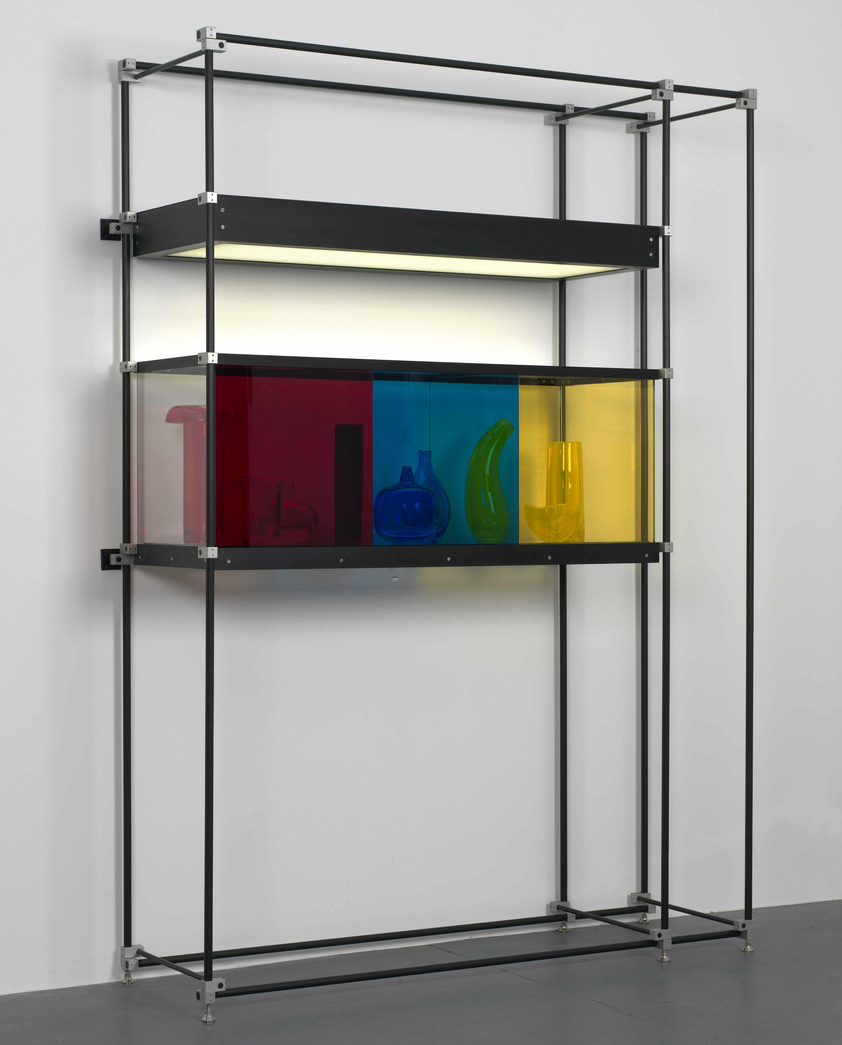 JOSIAH McELHENY, Chromatic Modernism (Red, Blue, Yellow)