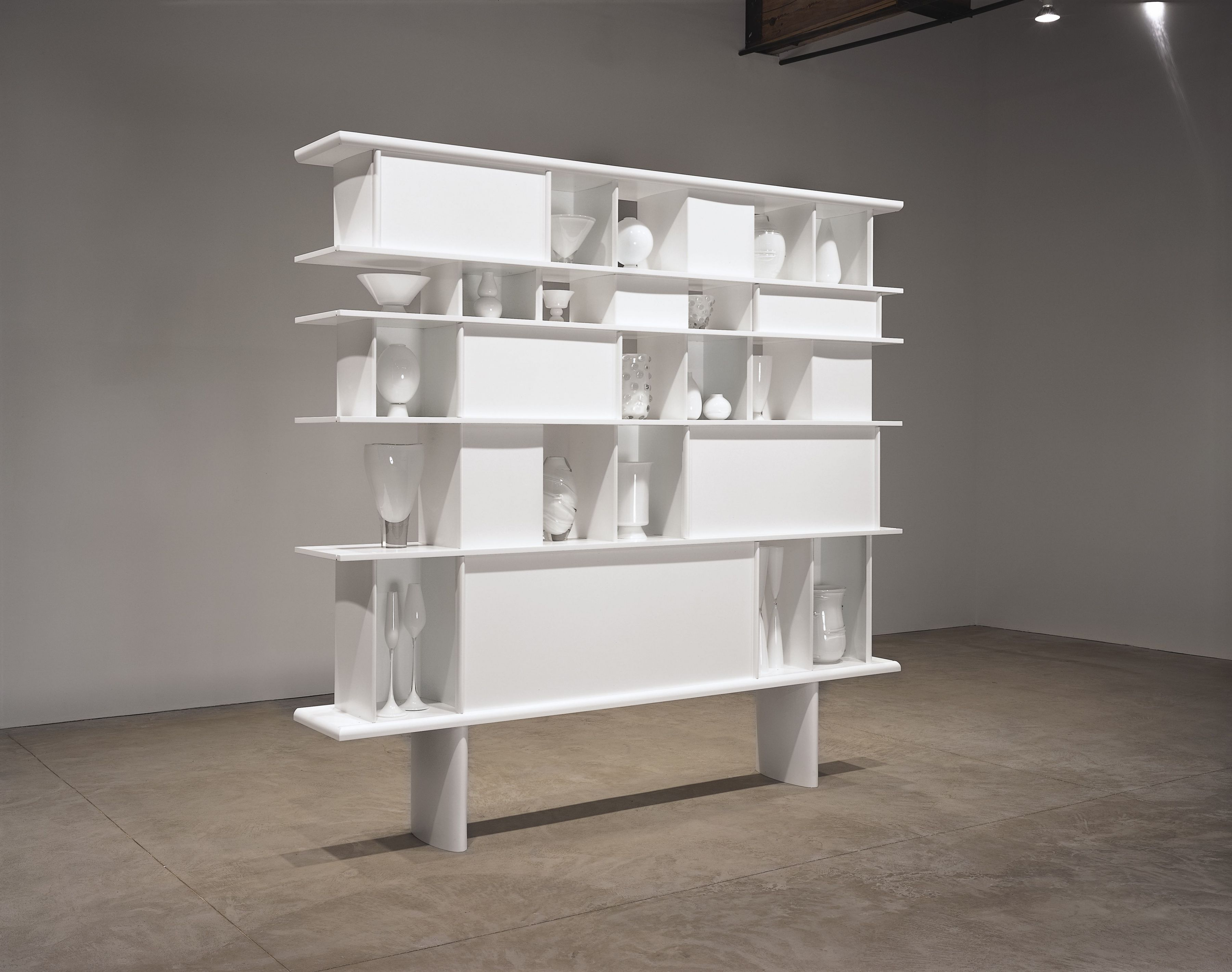JOSIAH McELHENY, Charlotte Perriand, Carlo Scarpa, some others (White)