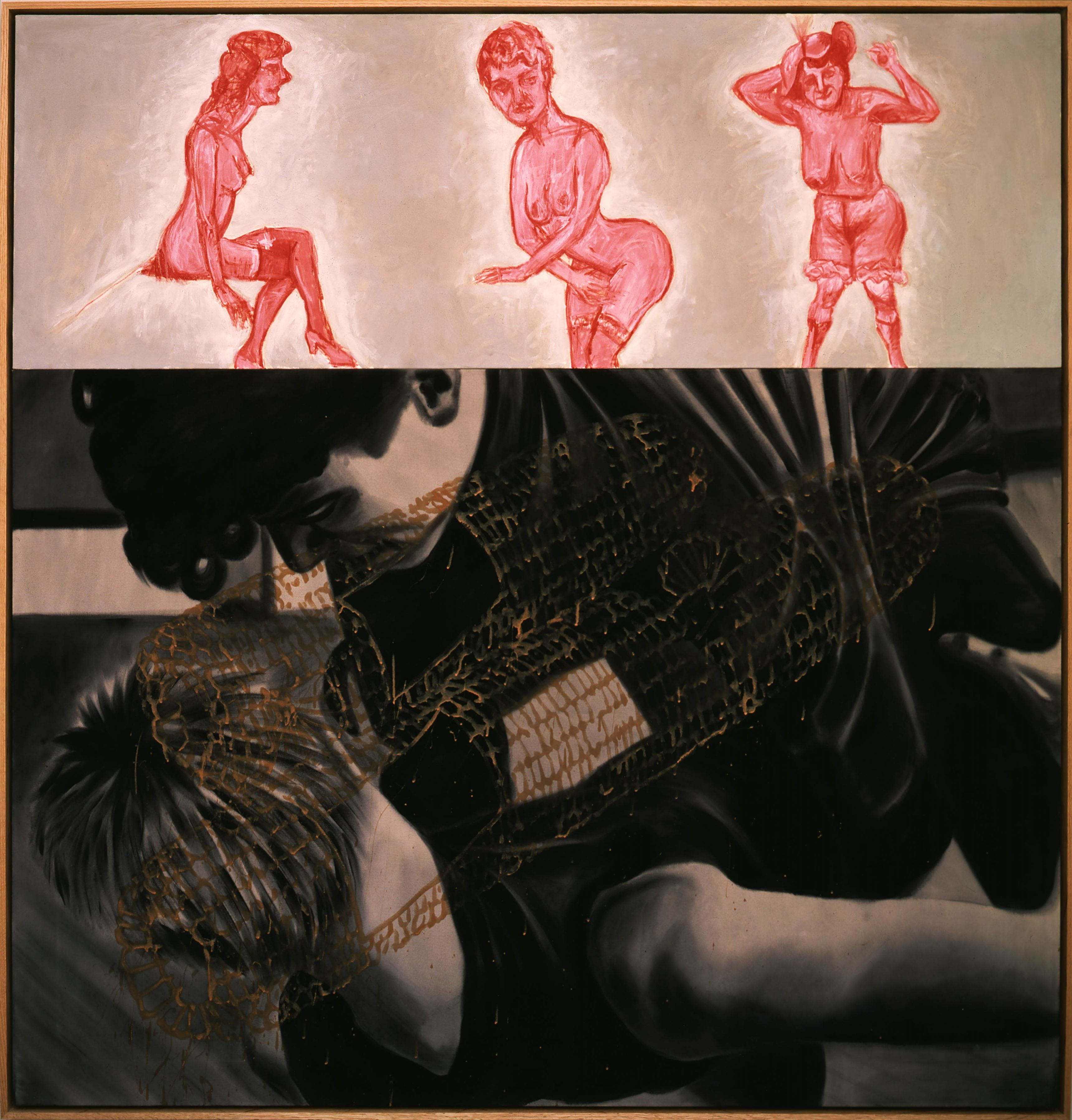 David Salle Woodsmoke,1985