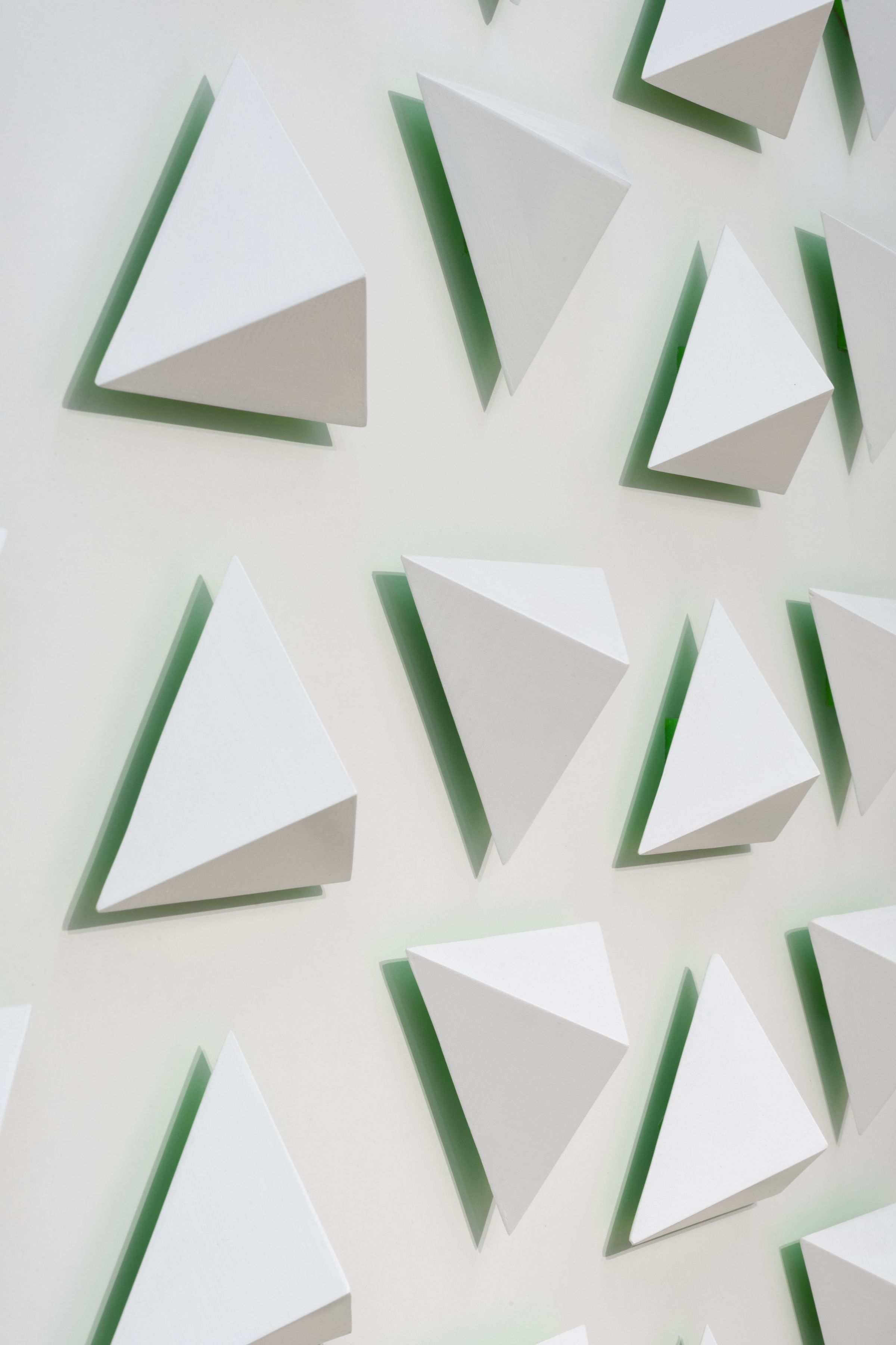 Luis Tomasello, Atmosphère chromoplastique N° 1029, 2013 (detail). Painting, acrylic and wood, 53 1/4 x 53 1/4 in.