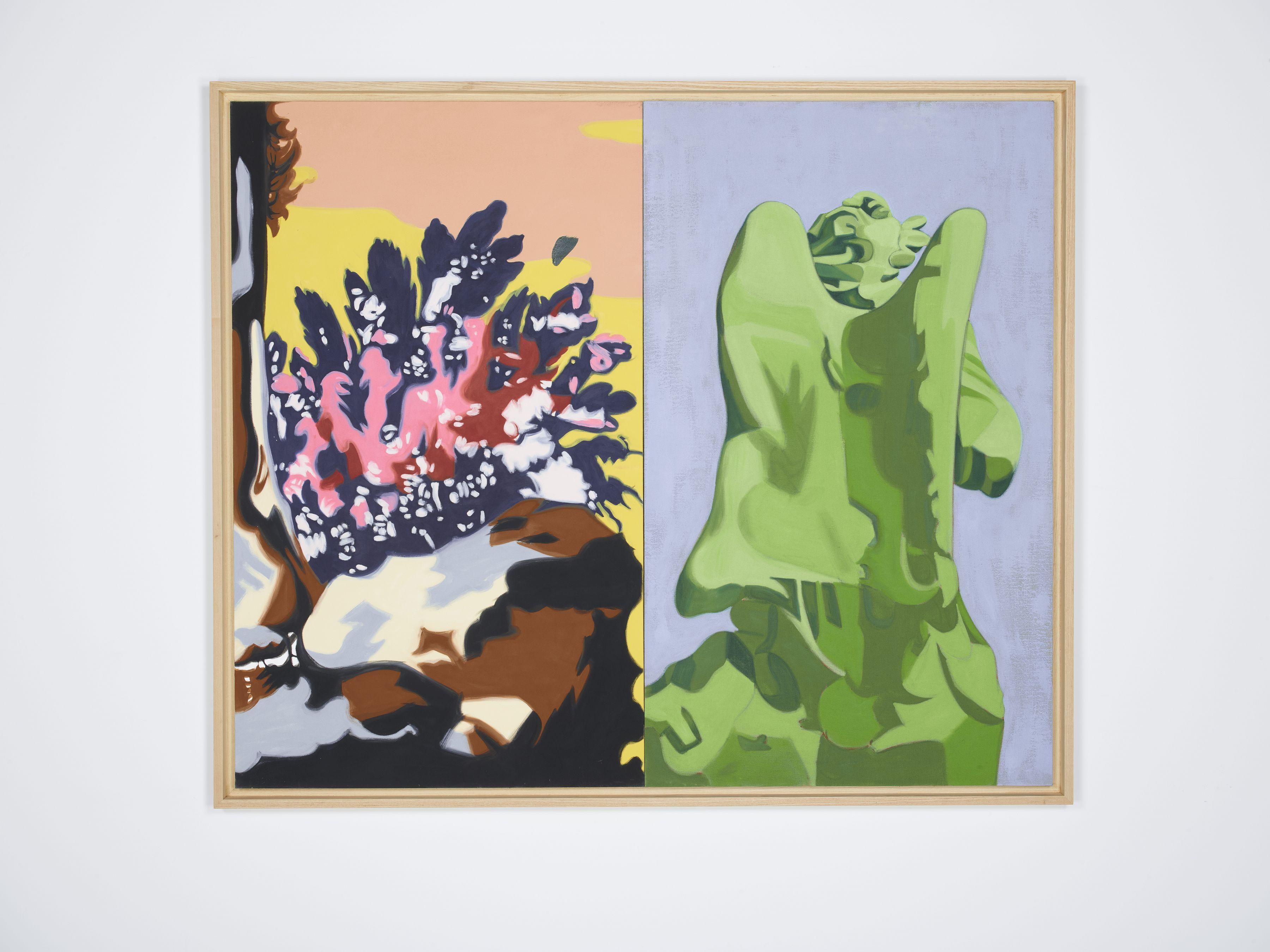 DAVID SALLE Green Angel, 2001