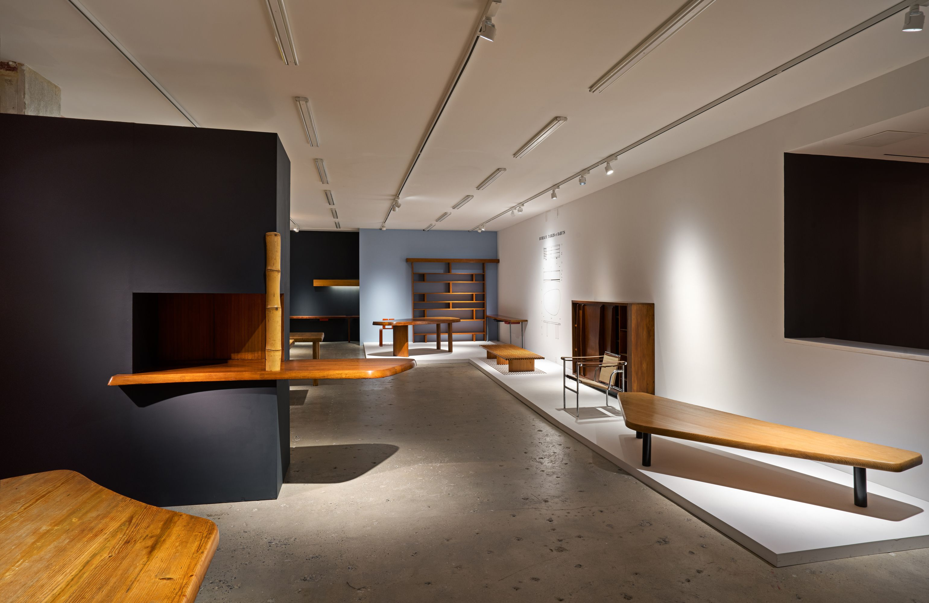 Table À Manger Japonaise selected works - installation views - - charlotte perriand
