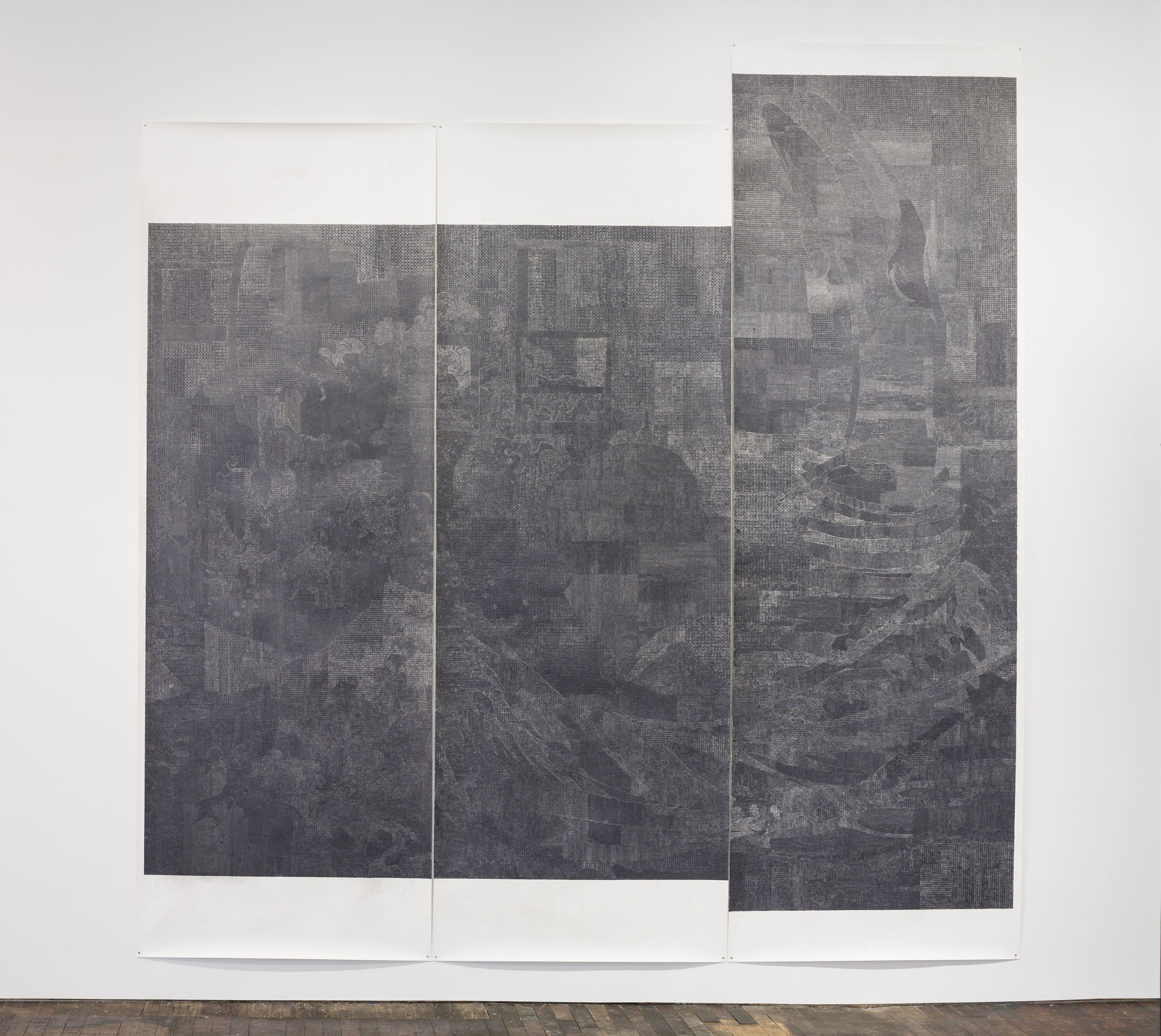 Lucy Skaer Untitled (Black Drawing)