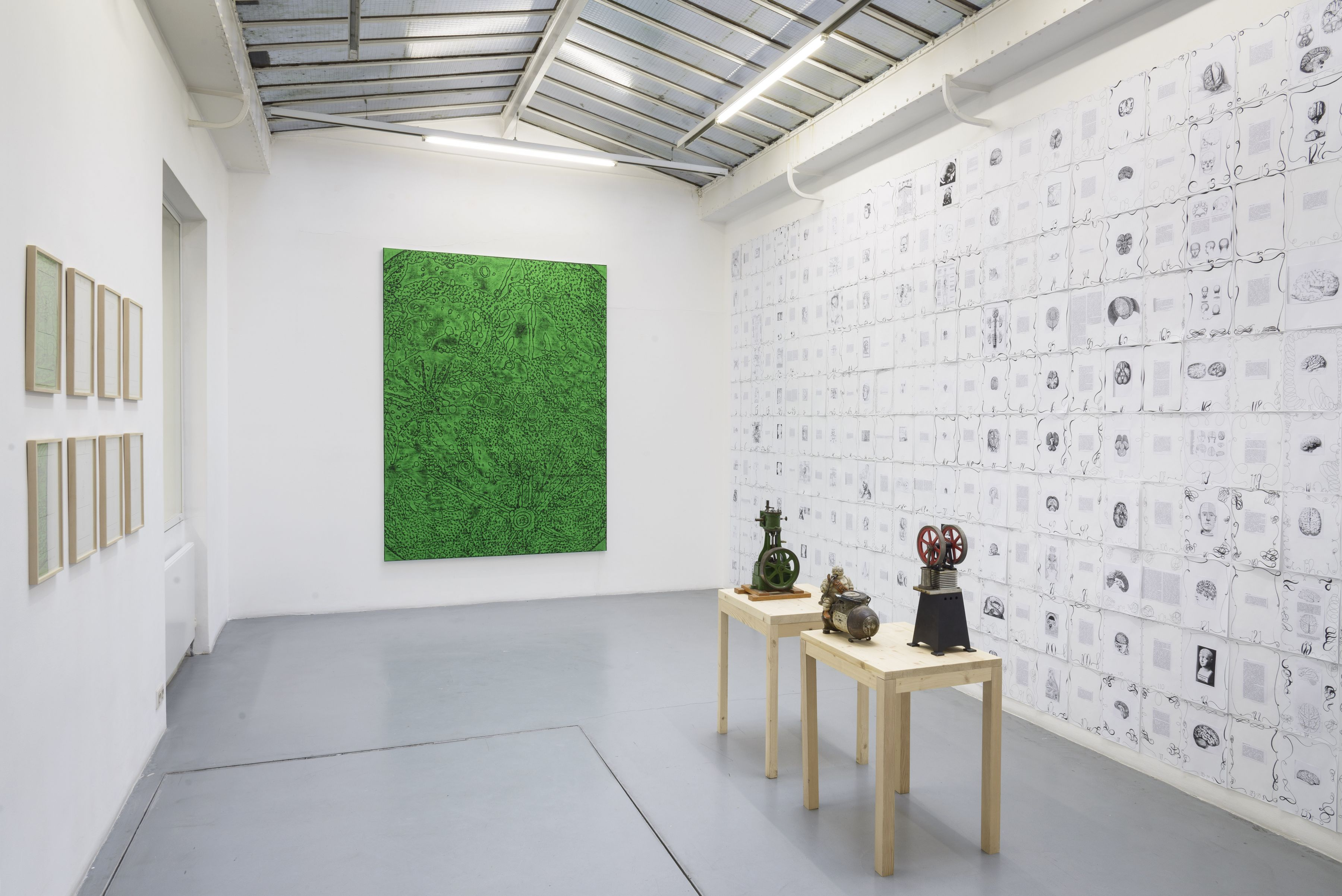 Matt Mullican: Collecting for the studio -Collecting 1959-2013– installation view 4