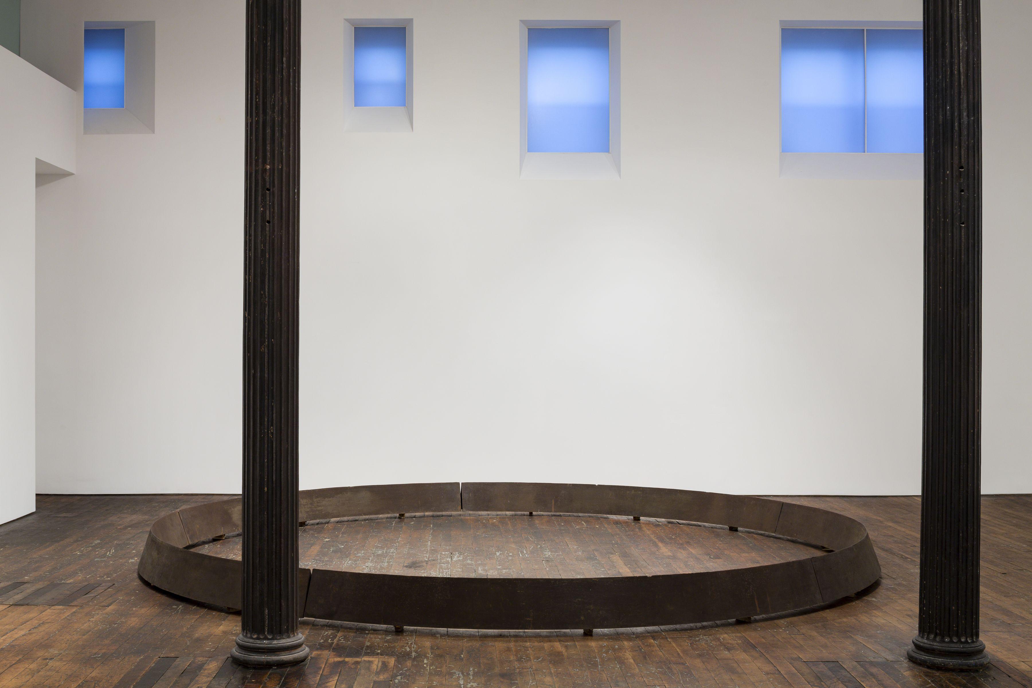 Untitled: Benassi, Bochner, Cabrita Reis, Gober, Nauman, Serra, Sosnowska, Tuttle, Walther– installation view 12