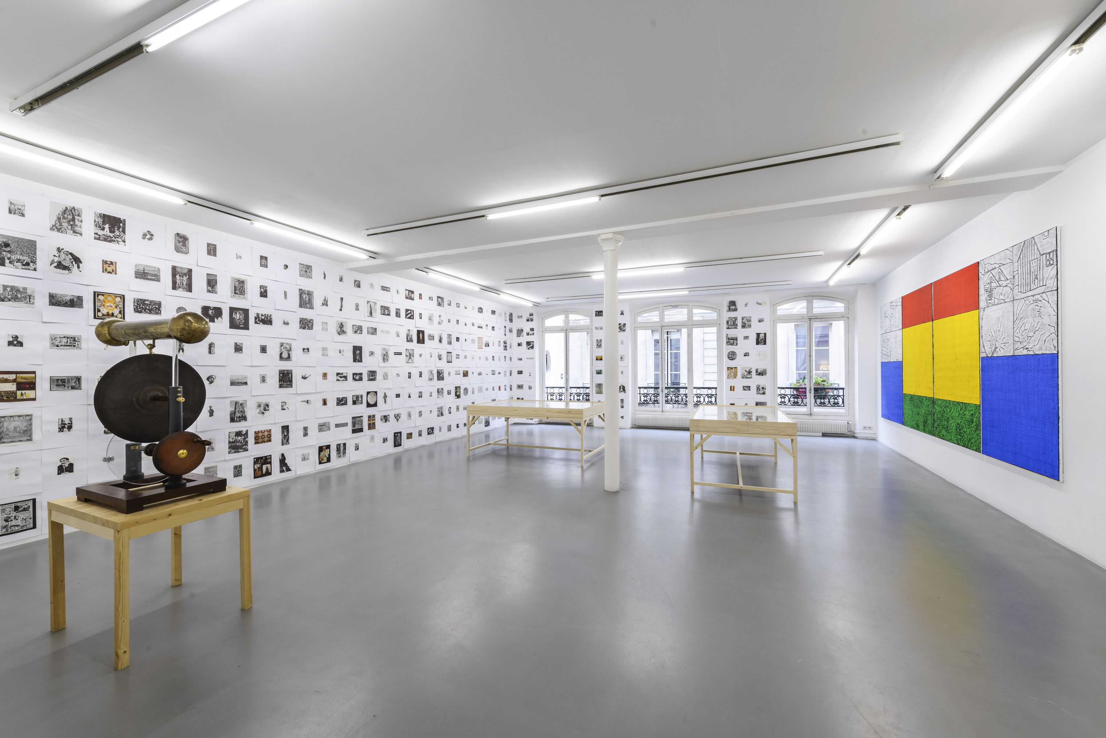 Matt Mullican: Collecting for the studio -Collecting 1959-2013– installation view 9