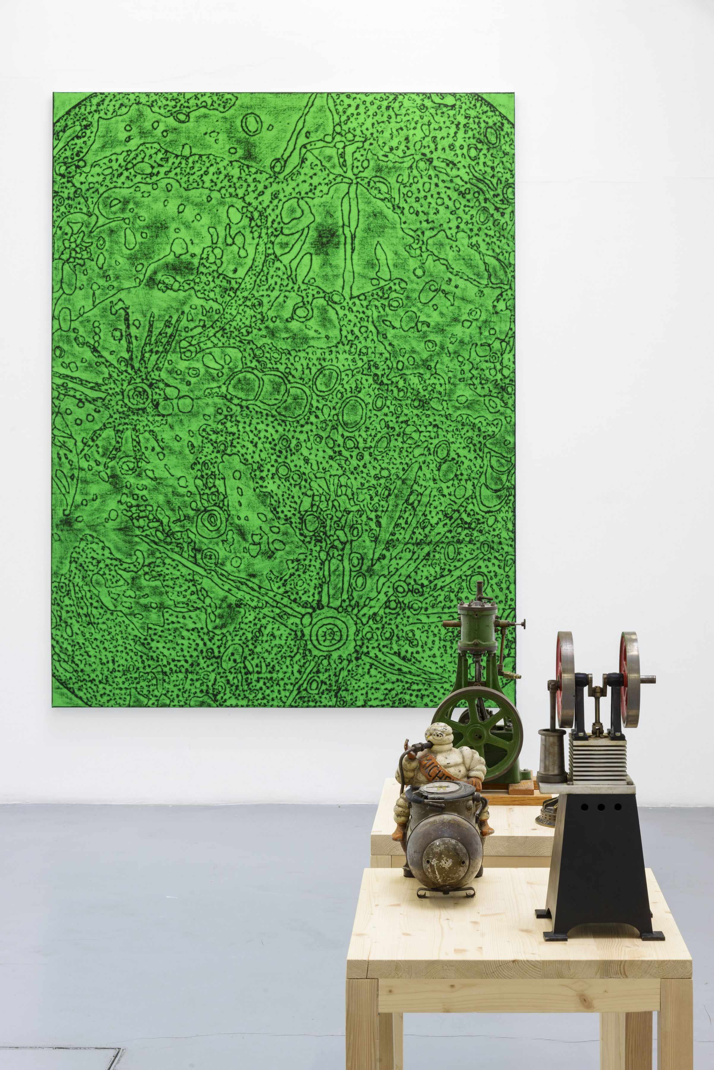 Matt Mullican: Collecting for the studio -Collecting 1959-2013– installation view 5