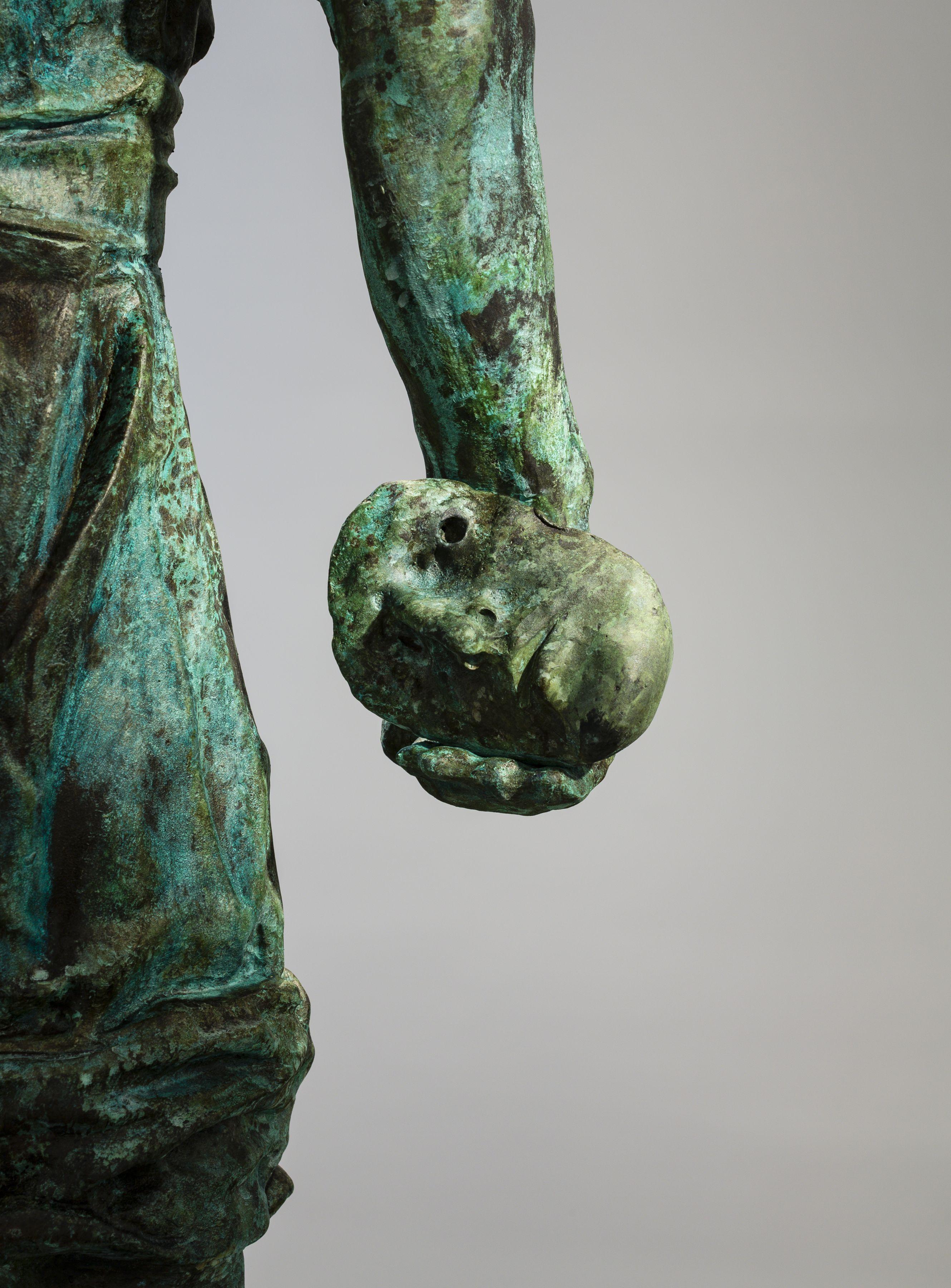 Thomas Schütte, Man Without Face (detail 2)