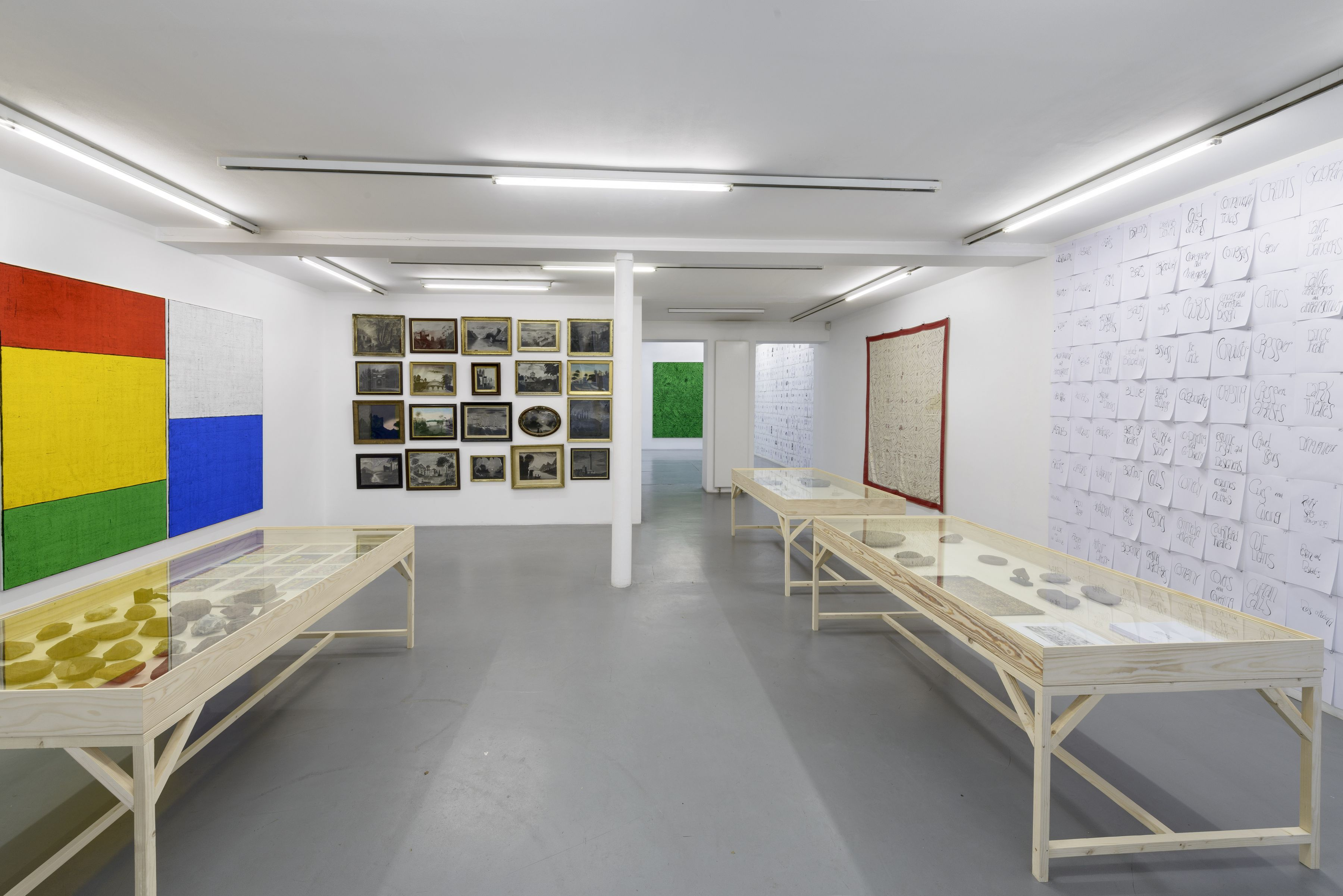 Matt Mullican: Collecting for the studio -Collecting 1959-2013 – installation view 1