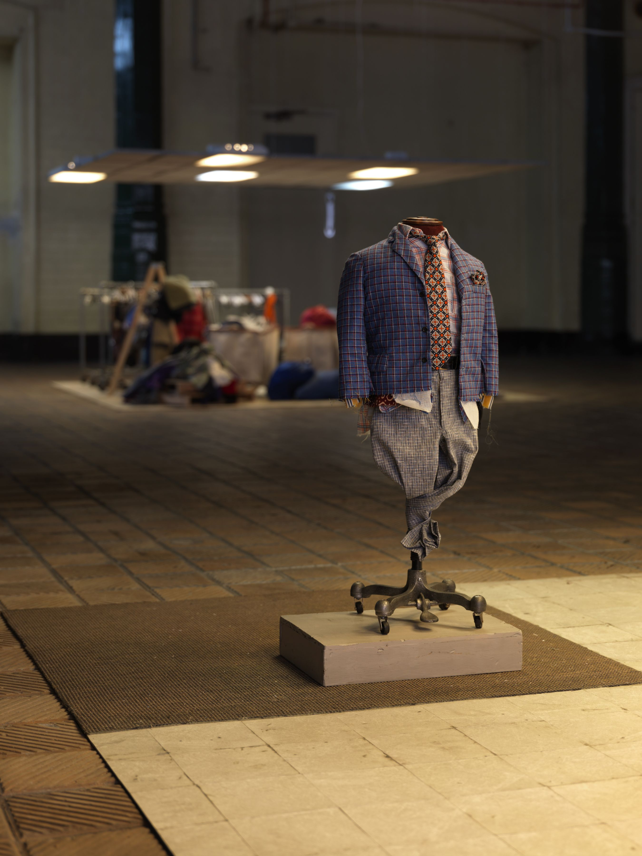 Charles LeDray: MEN'S SUITS , The Artangel Commission