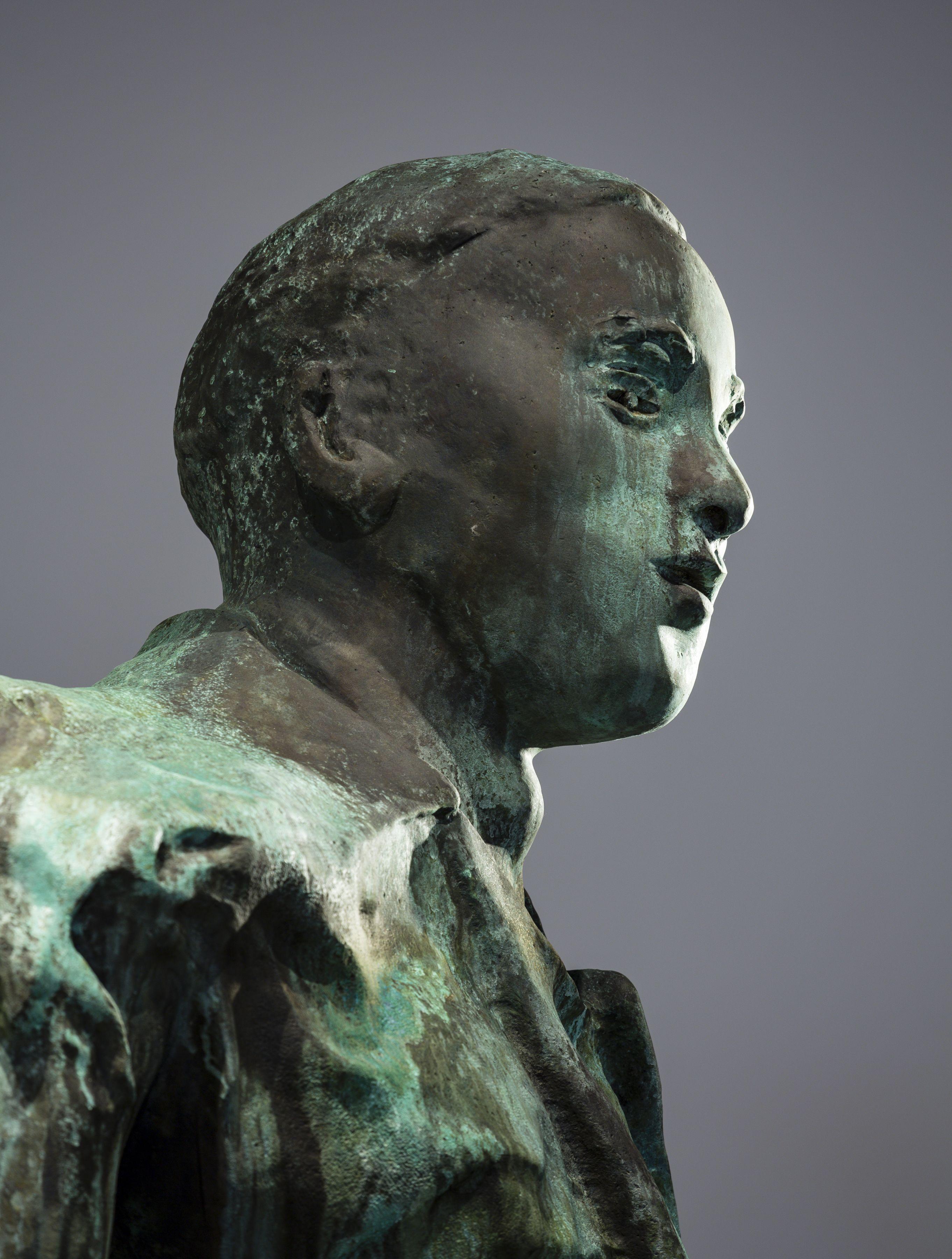 Thomas Schütte, Mann im Wind III (detail)
