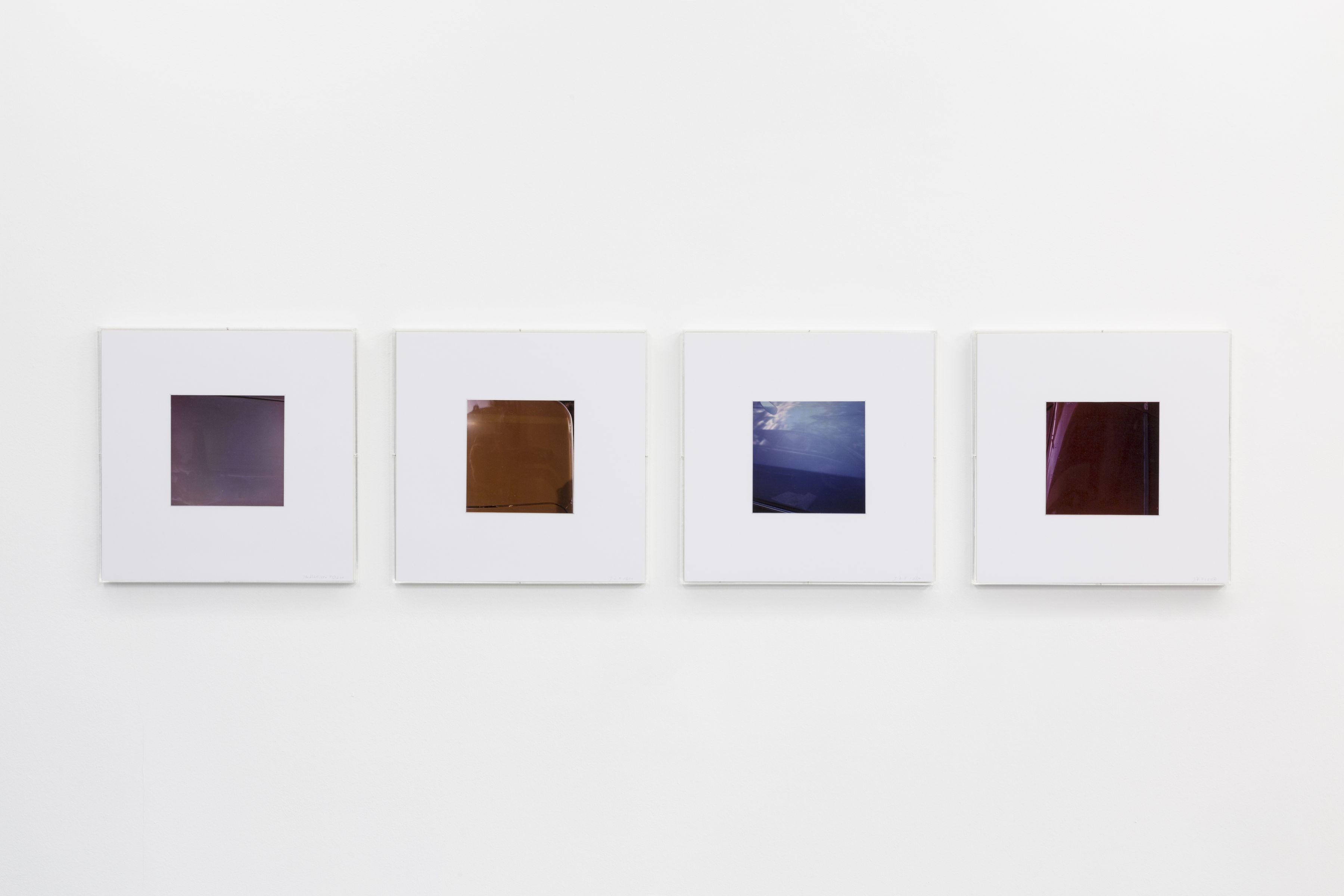 Jan Dibbets: New Colorstudies 1976/2012 – installation view 8