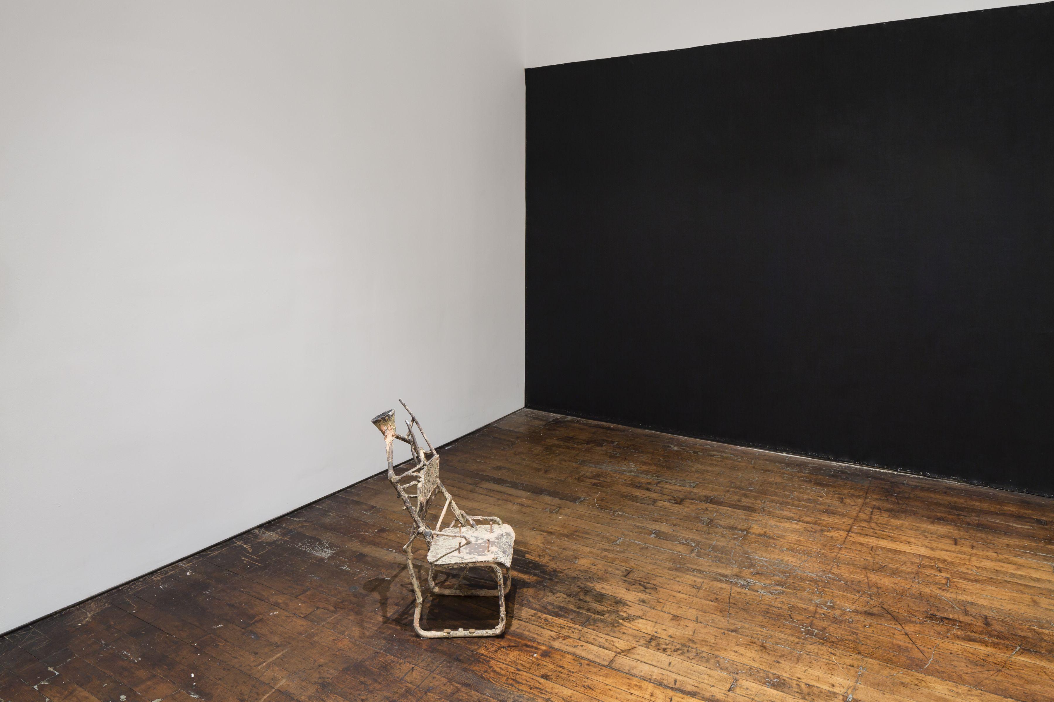 Untitled: Benassi, Bochner, Cabrita Reis, Gober, Nauman, Serra, Sosnowska, Tuttle, Walther– installation view 4
