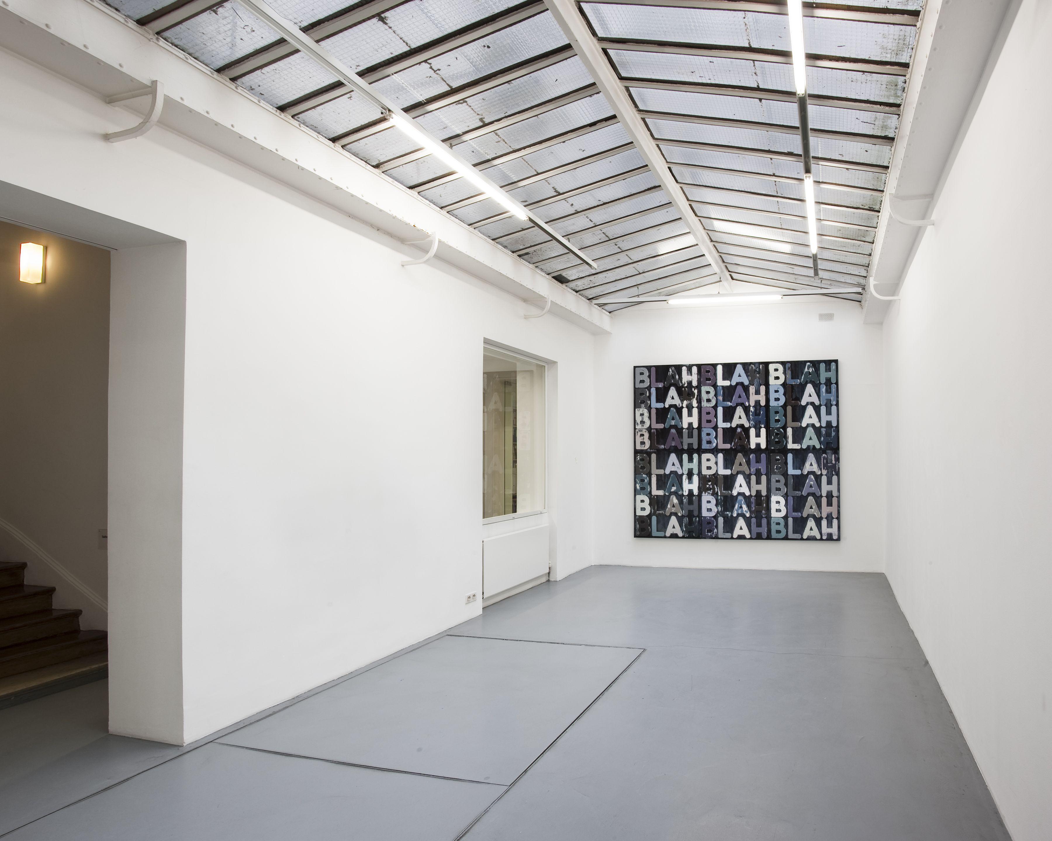 Mel Bochner – installation view 1