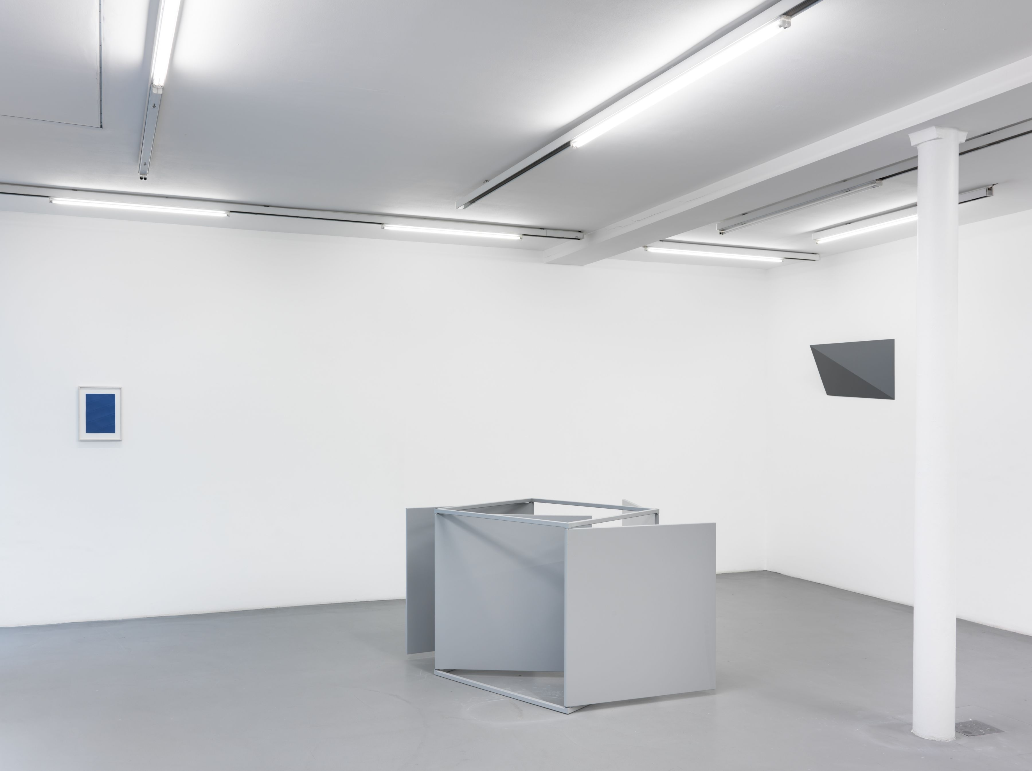 Charlotte Posenenske: Le même, autrement - The same, but different – installation view 1