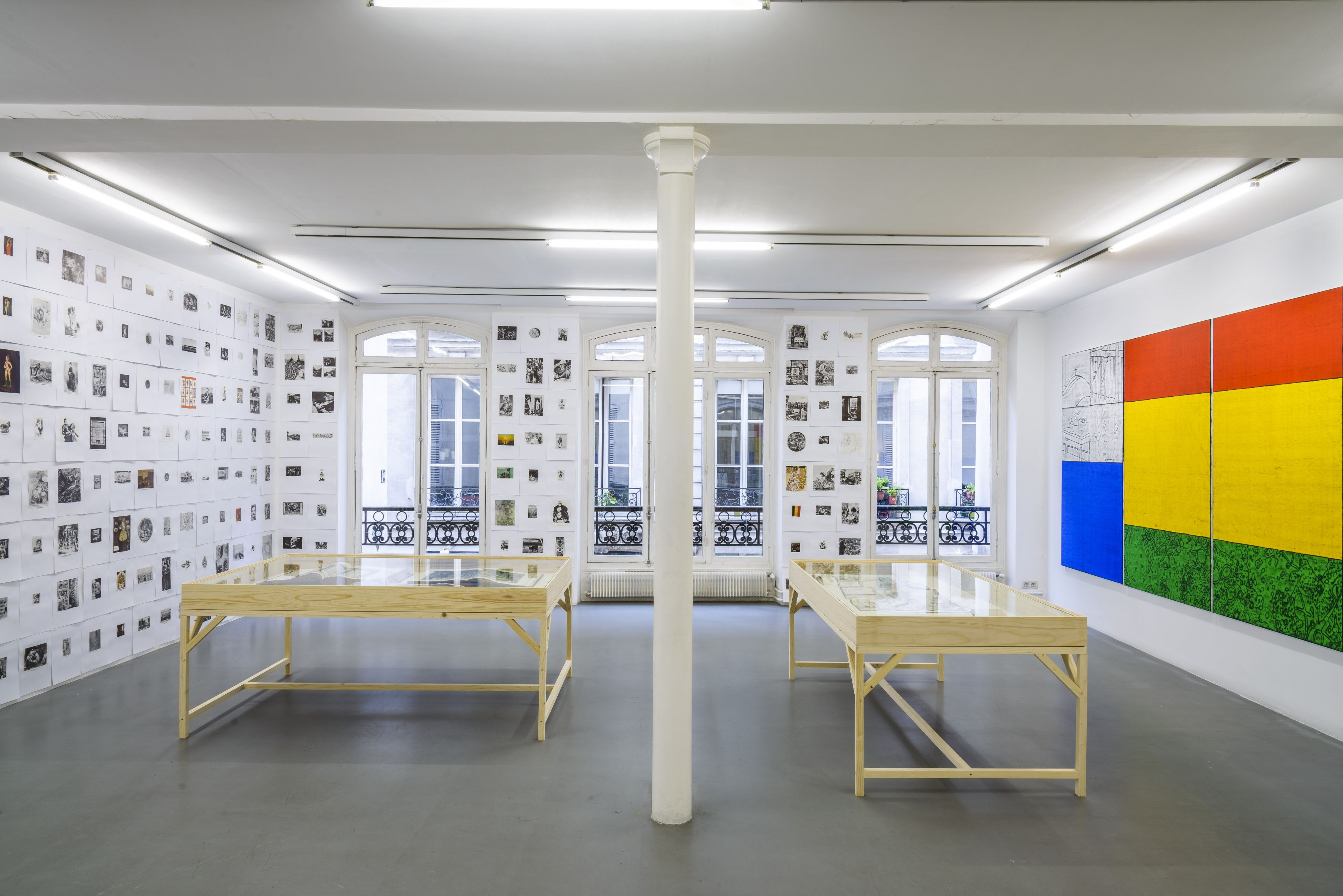 Matt Mullican: Collecting for the studio -Collecting 1959-2013– installation view 8
