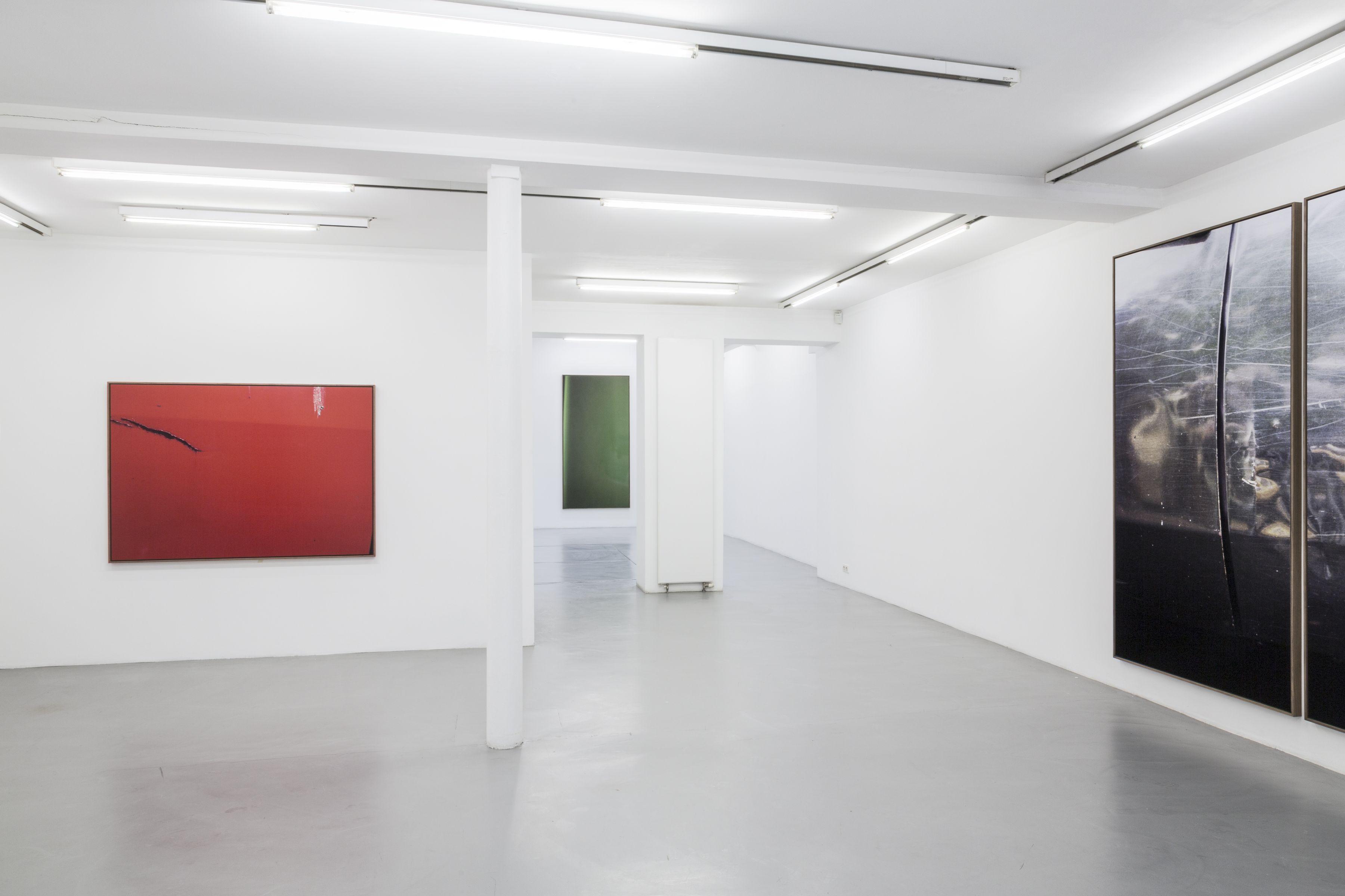 Jan Dibbets: New Colorstudies 1976/2012 – installation view 1