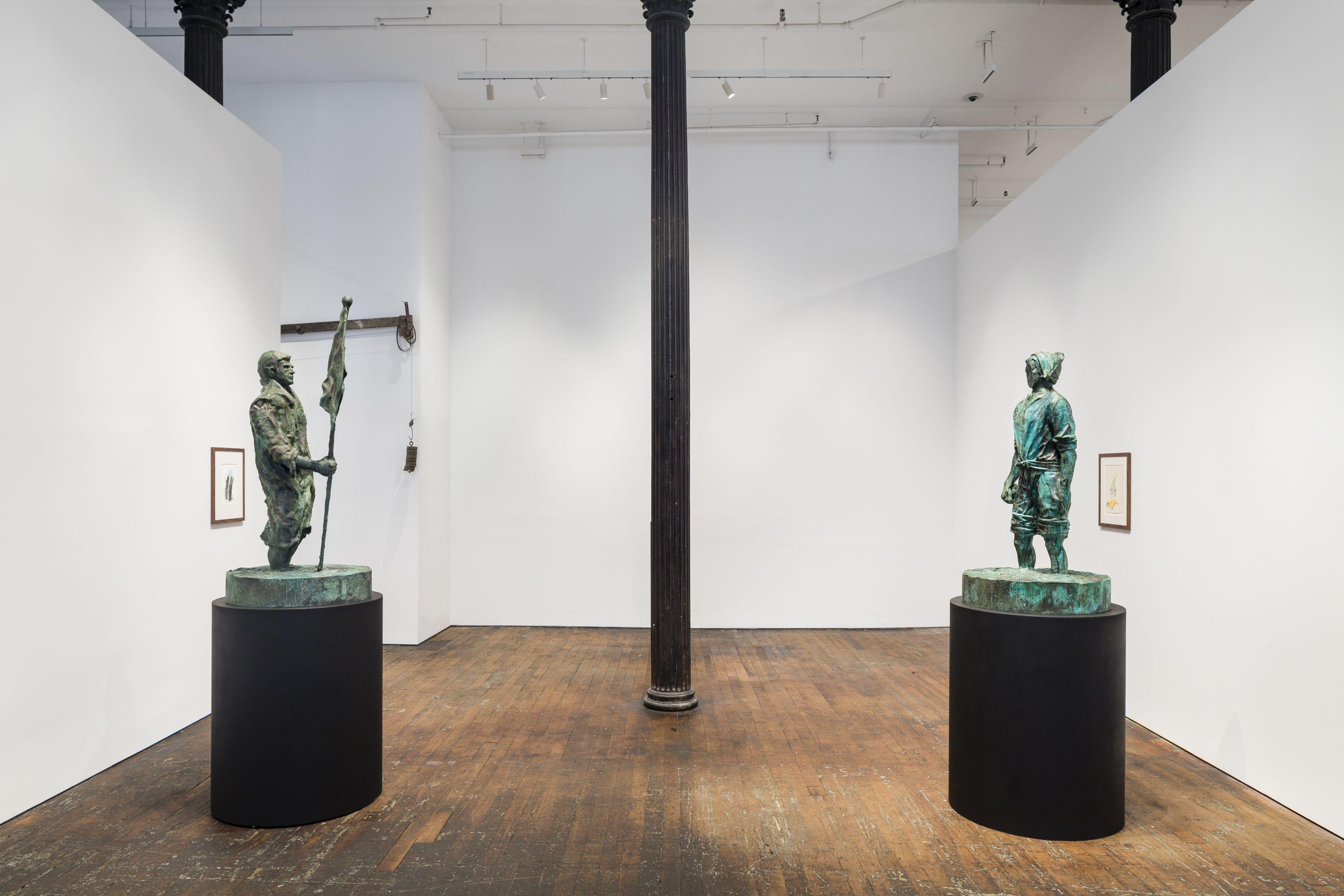 Thomas Schütte:New Work– installation view 4