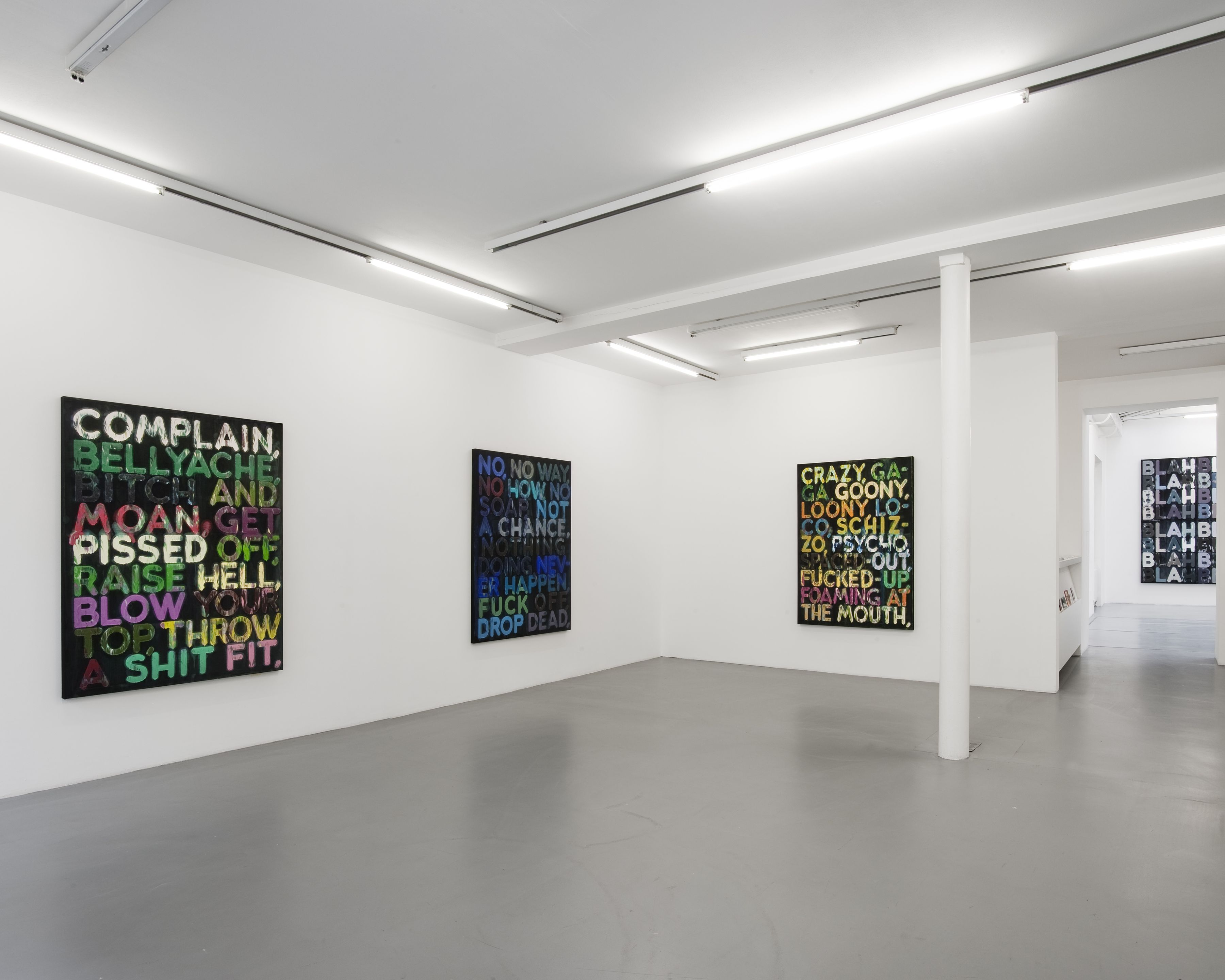 Mel Bochner– installation view 5