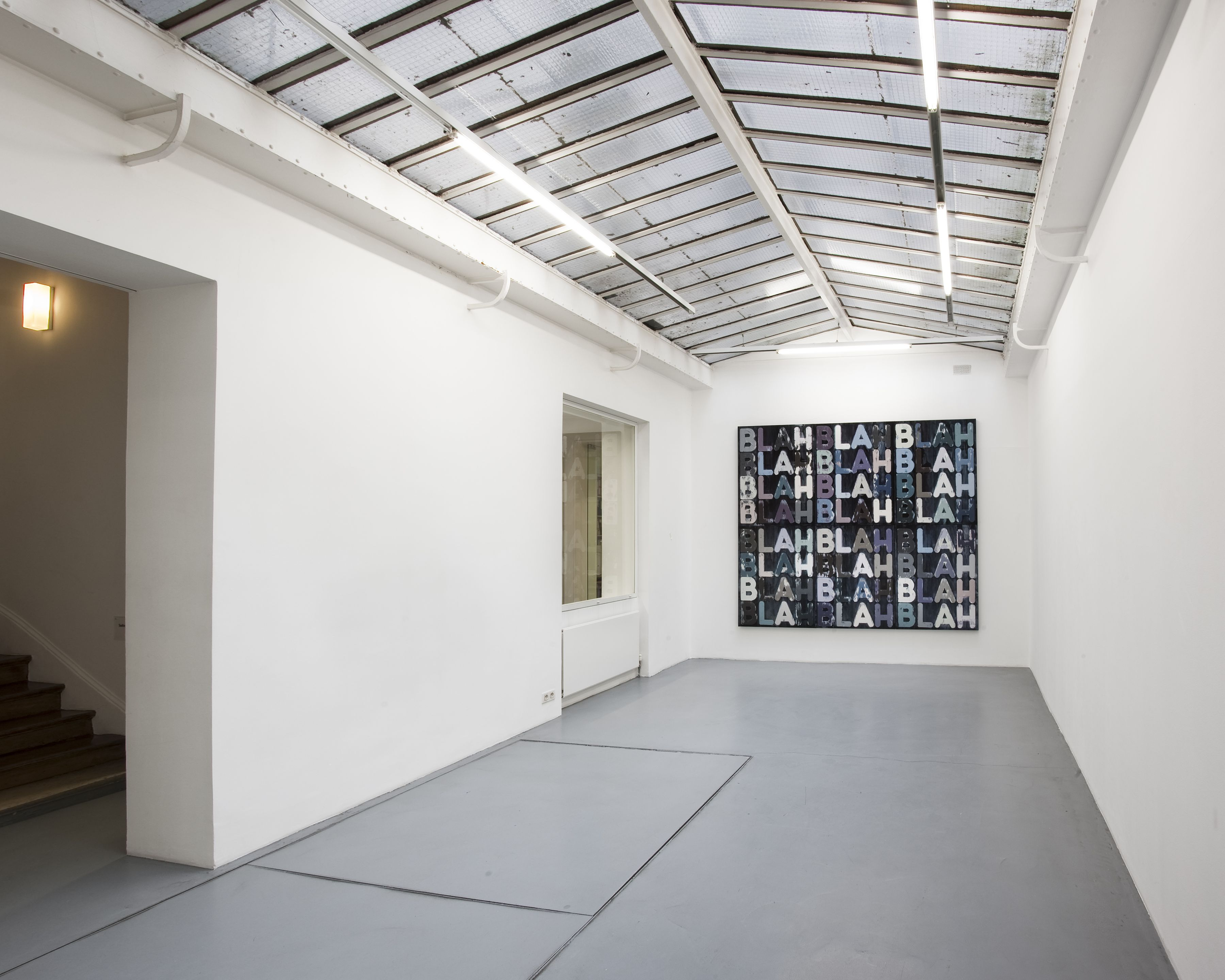 Mel Bochner– installation view 2