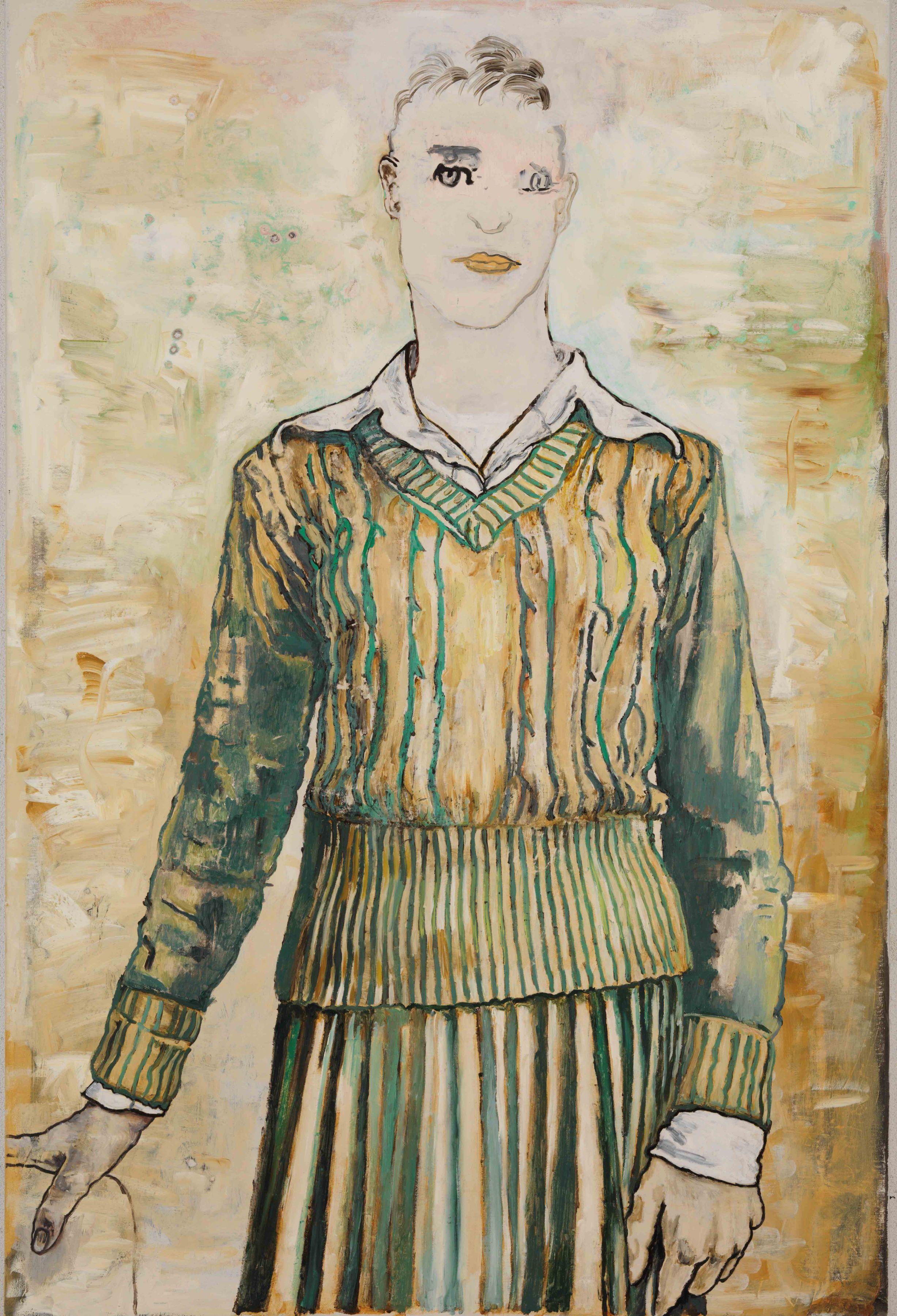 Woman, 2010, Alkydoil on linen