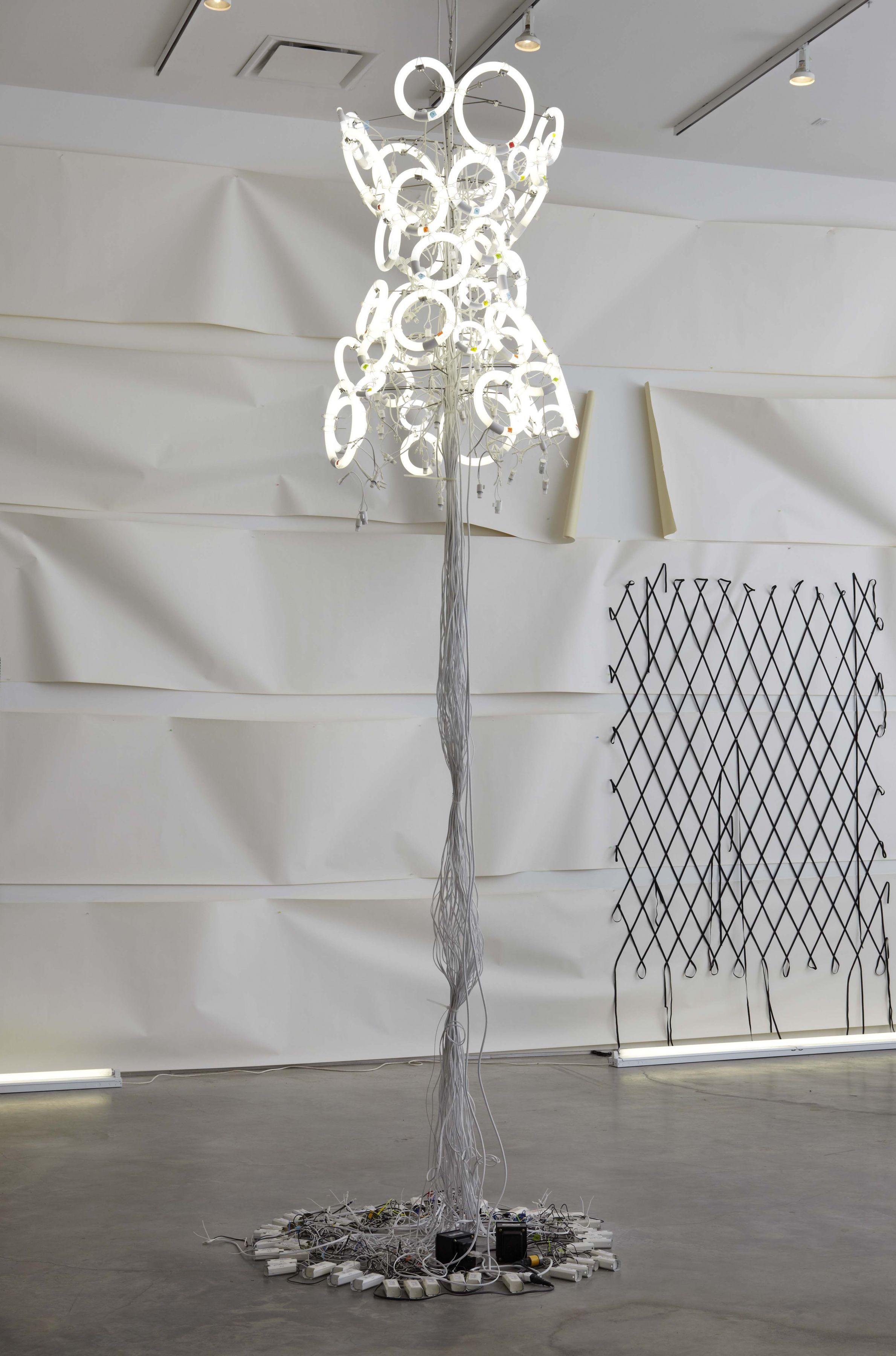 Flourescent(Installation view), Marianne Boesky Gallery, 2011