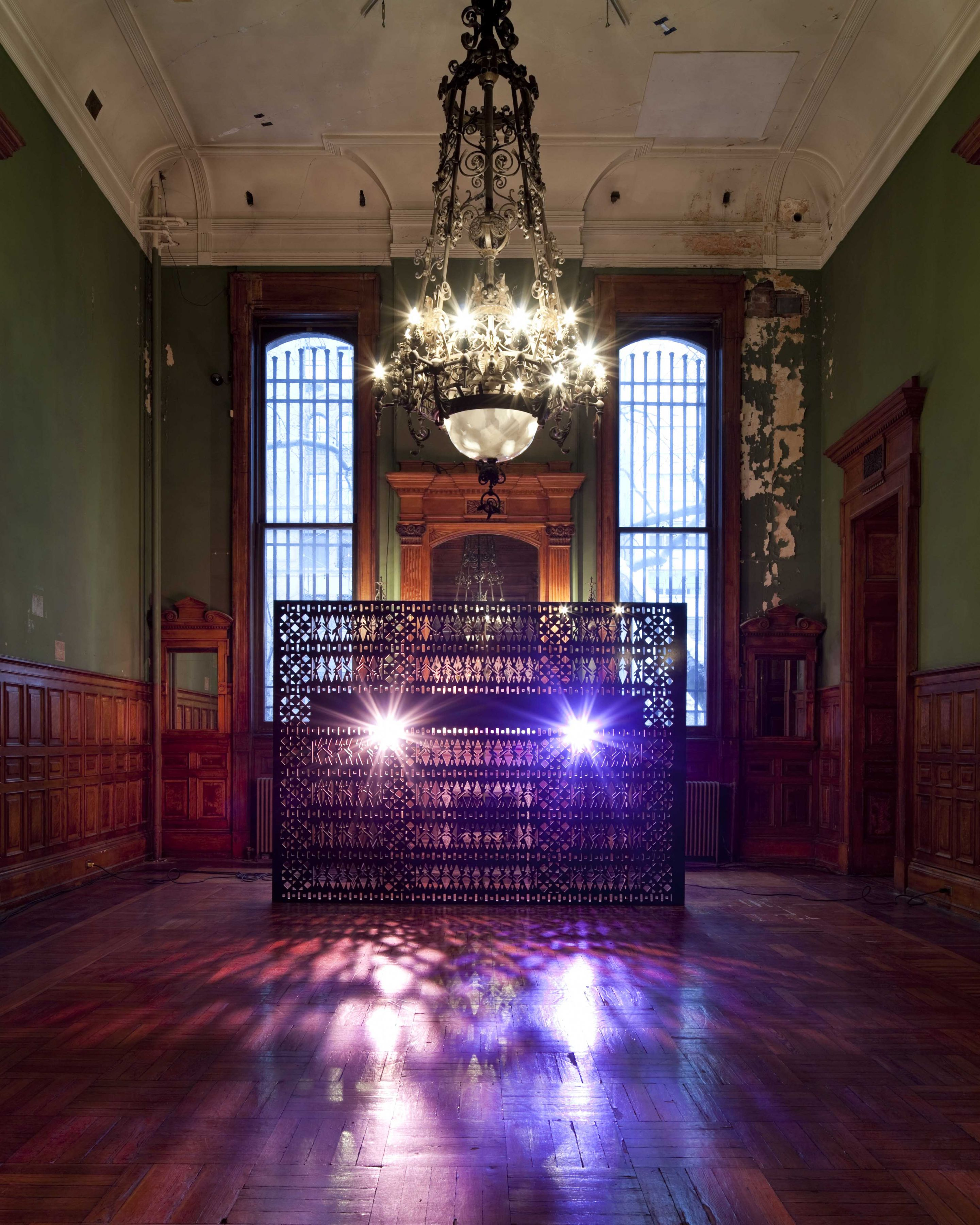 a video installation for art production fund in the park avenue armory by sue de beer