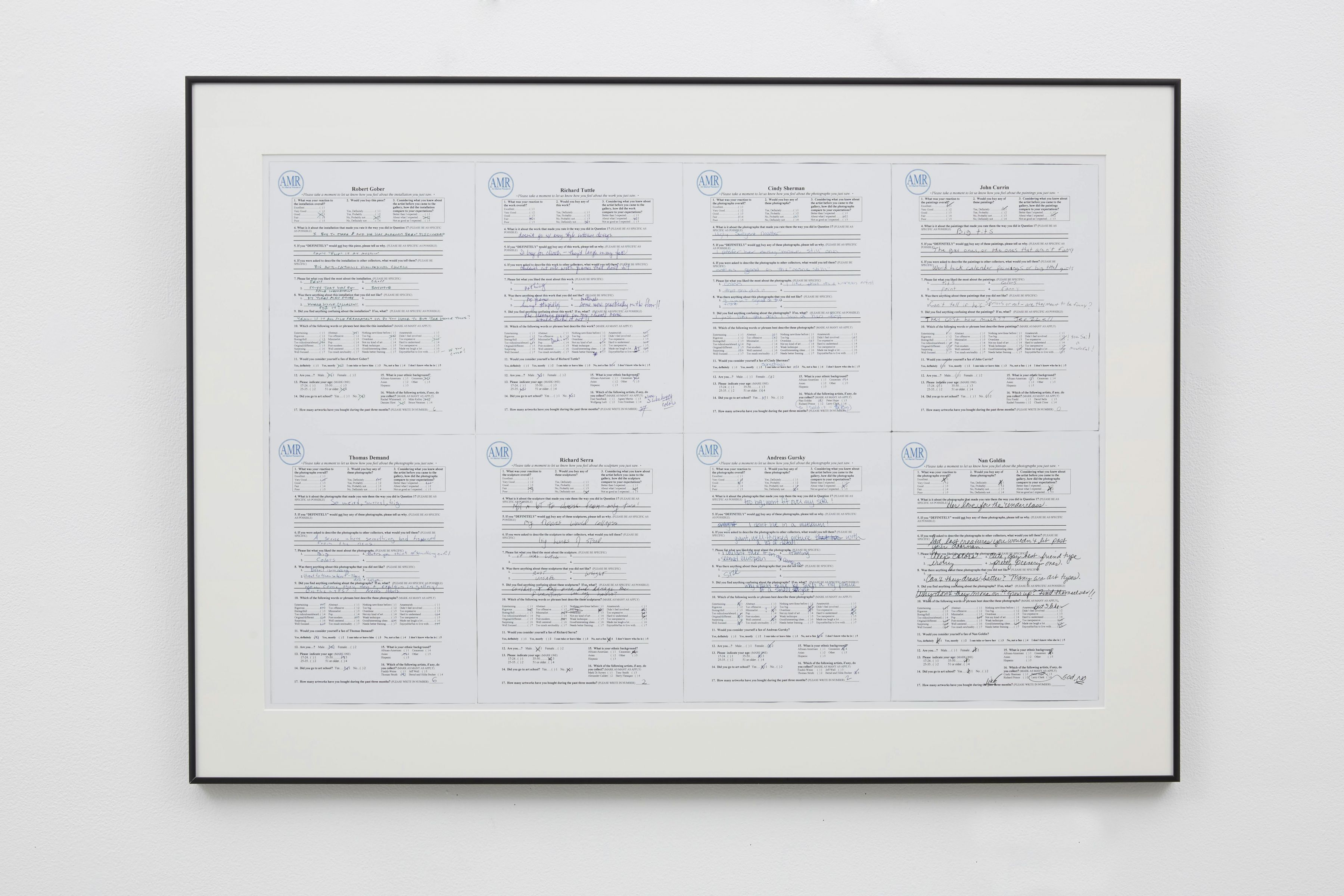 framed documents by john waters