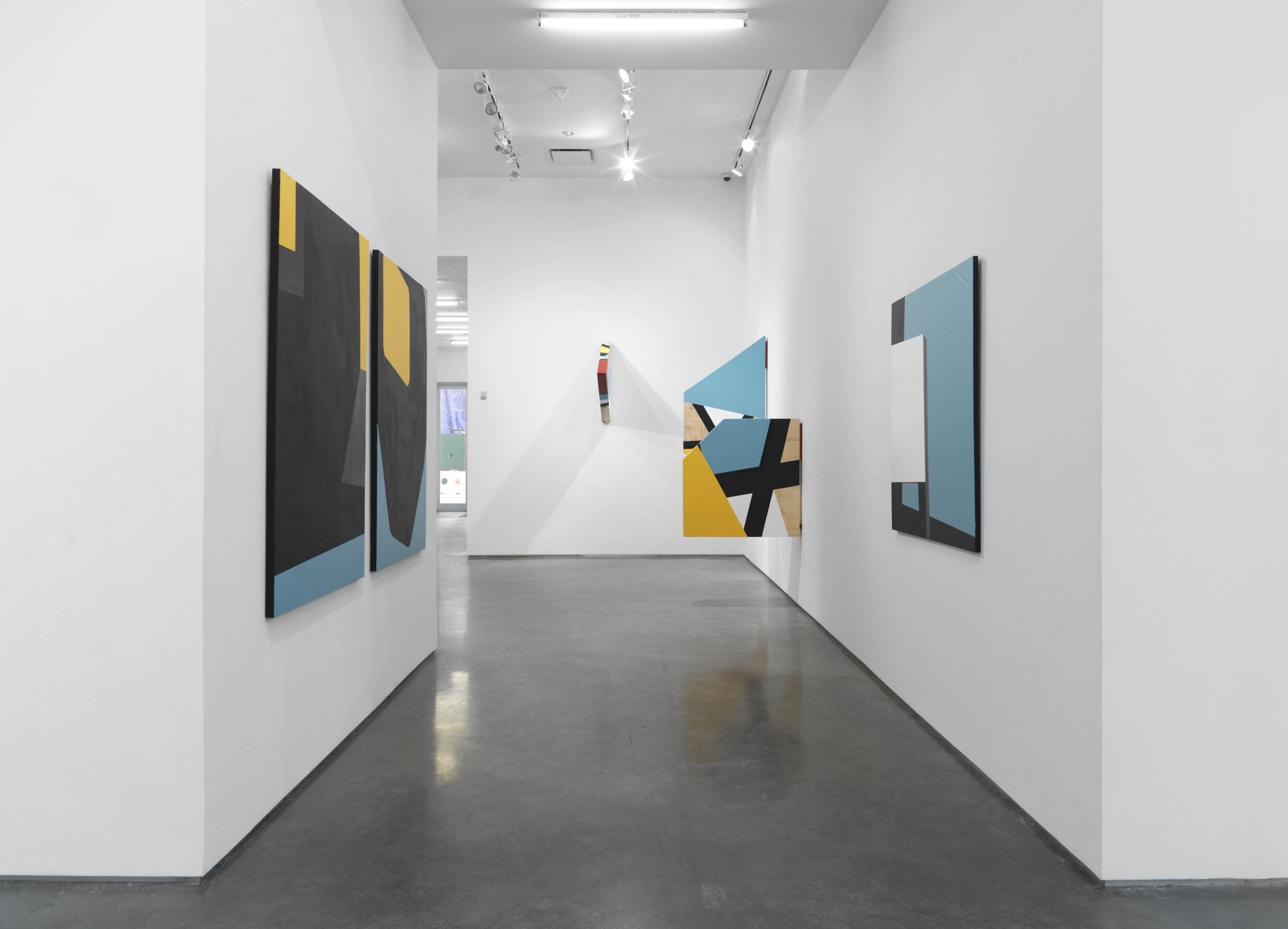 Colour & Form in BLACK(Installation View), Marianne Boesky Gallery, 2016