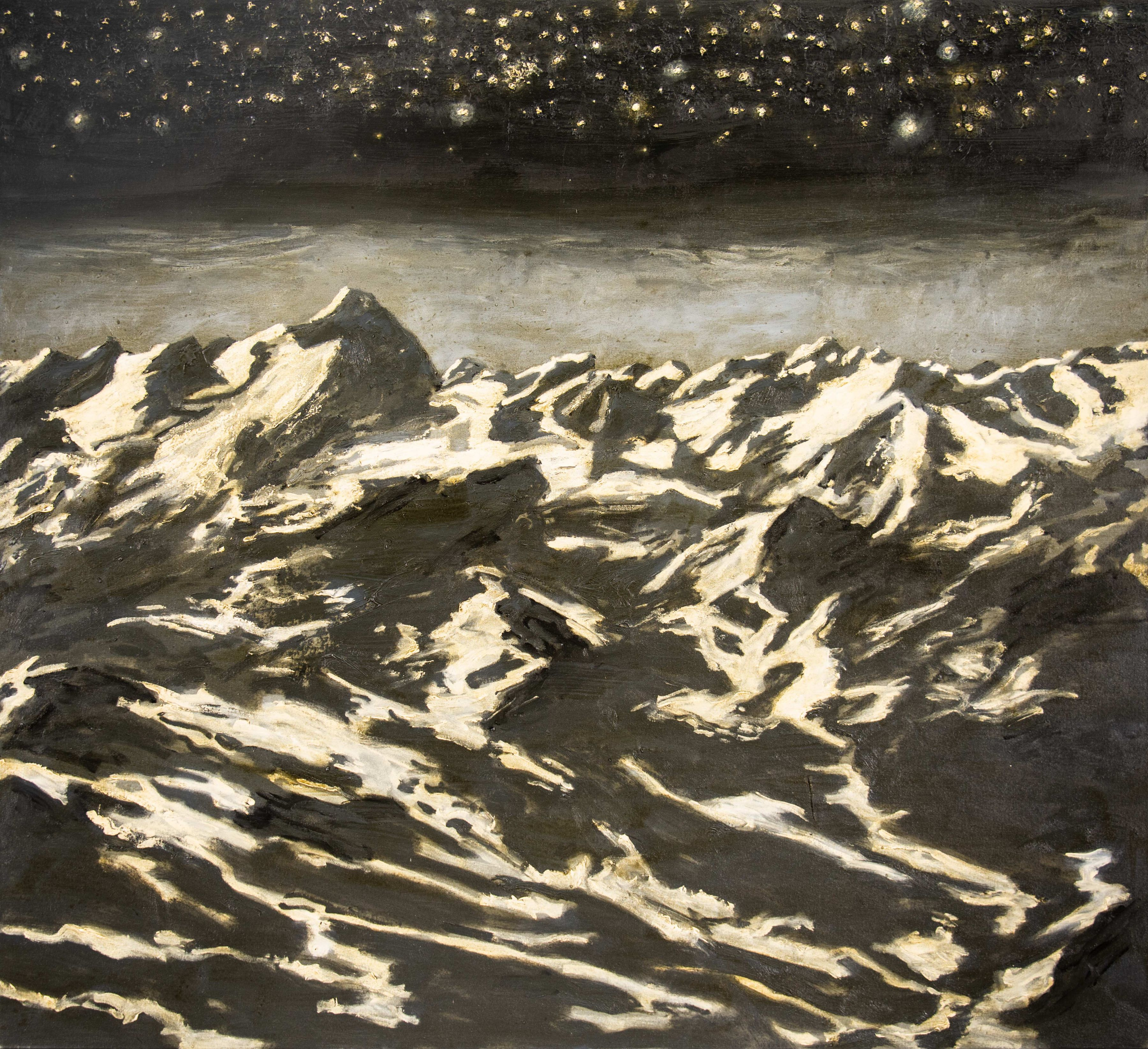 Paul Manes, Night in the Mountains, 2018