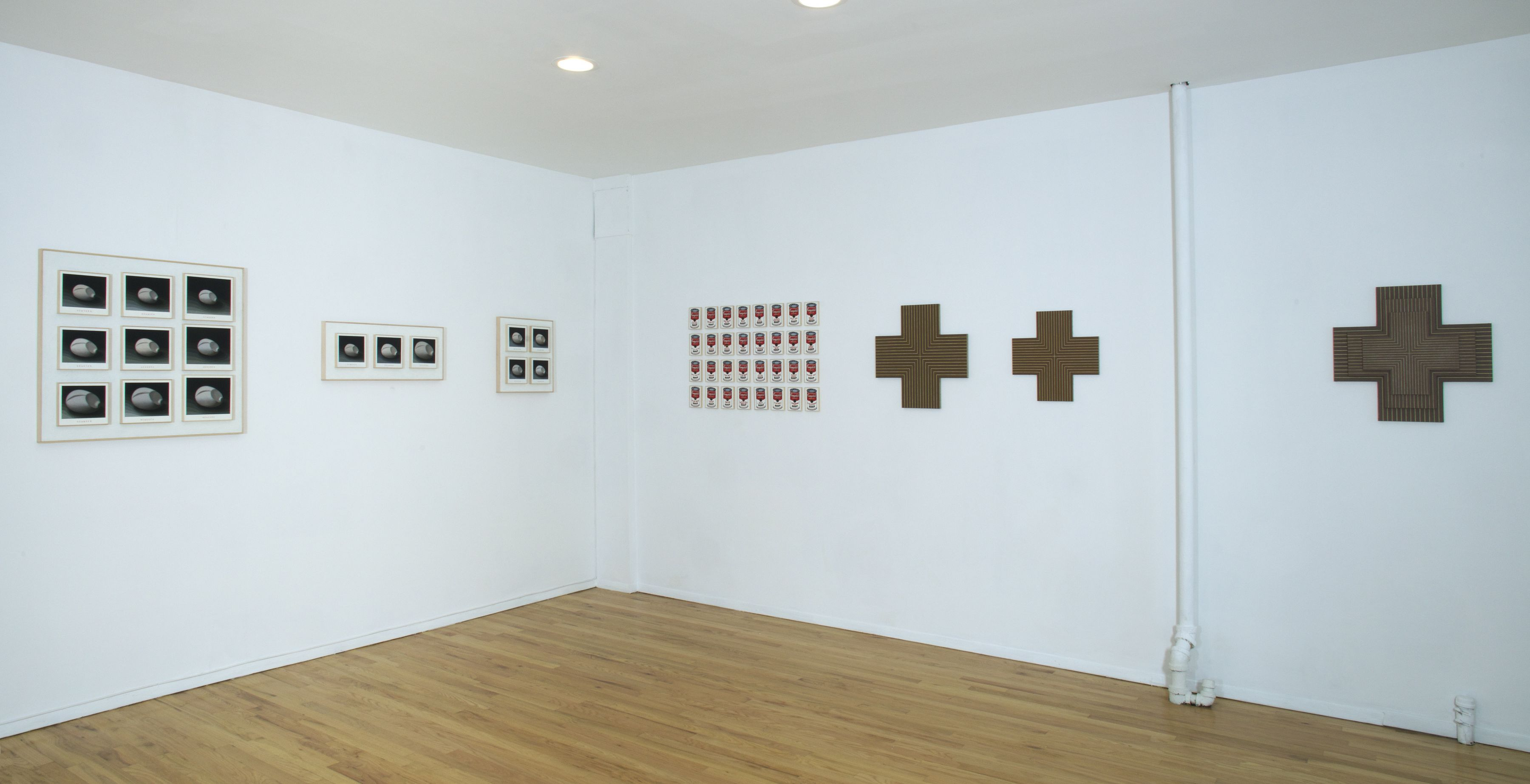 Installation view, Richard Pettibone: 64 Paintings, 9 Works, 1046 MADISON