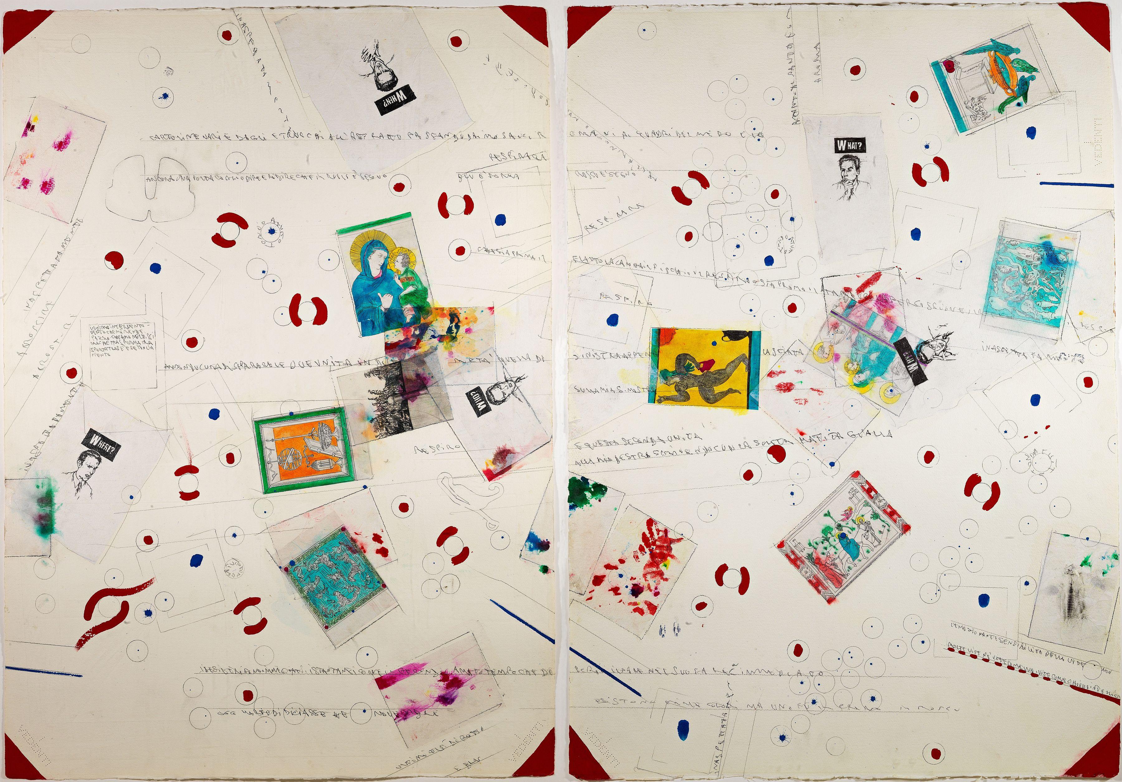 Cartoline varie dagli Etruschi all'astratto, 1986