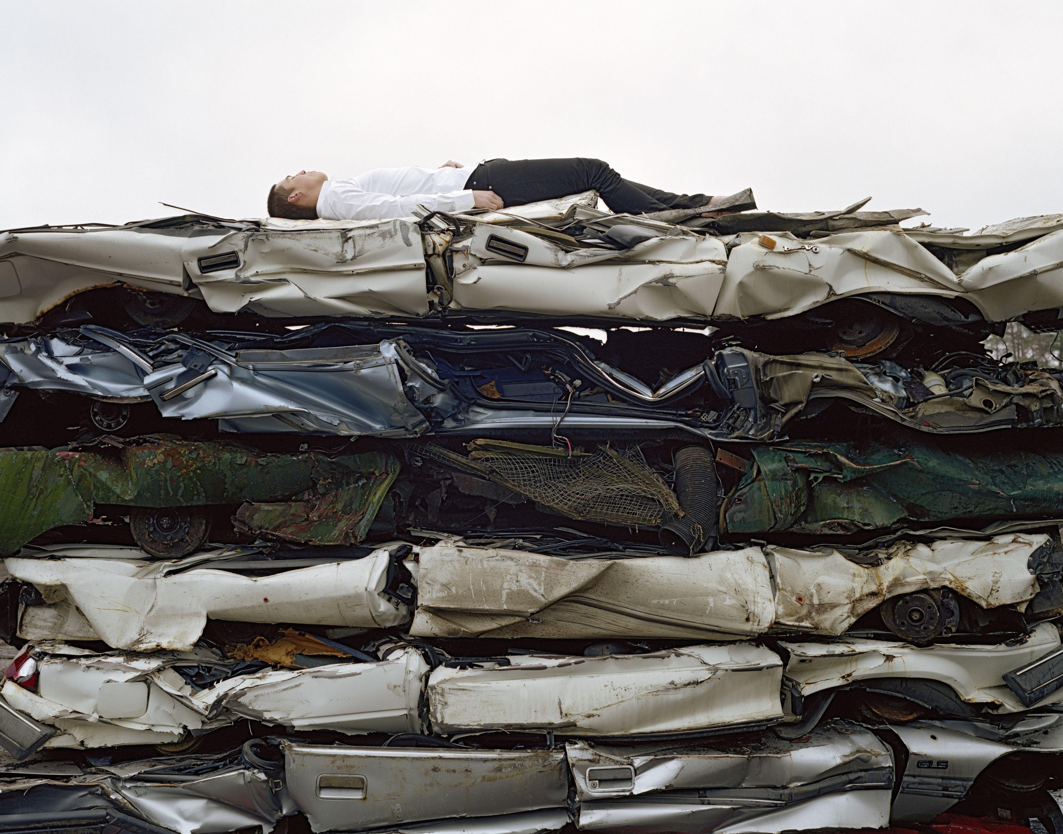 Maria Friberg  still lives #5  2005, Cibachrome, 71 x 91 inches
