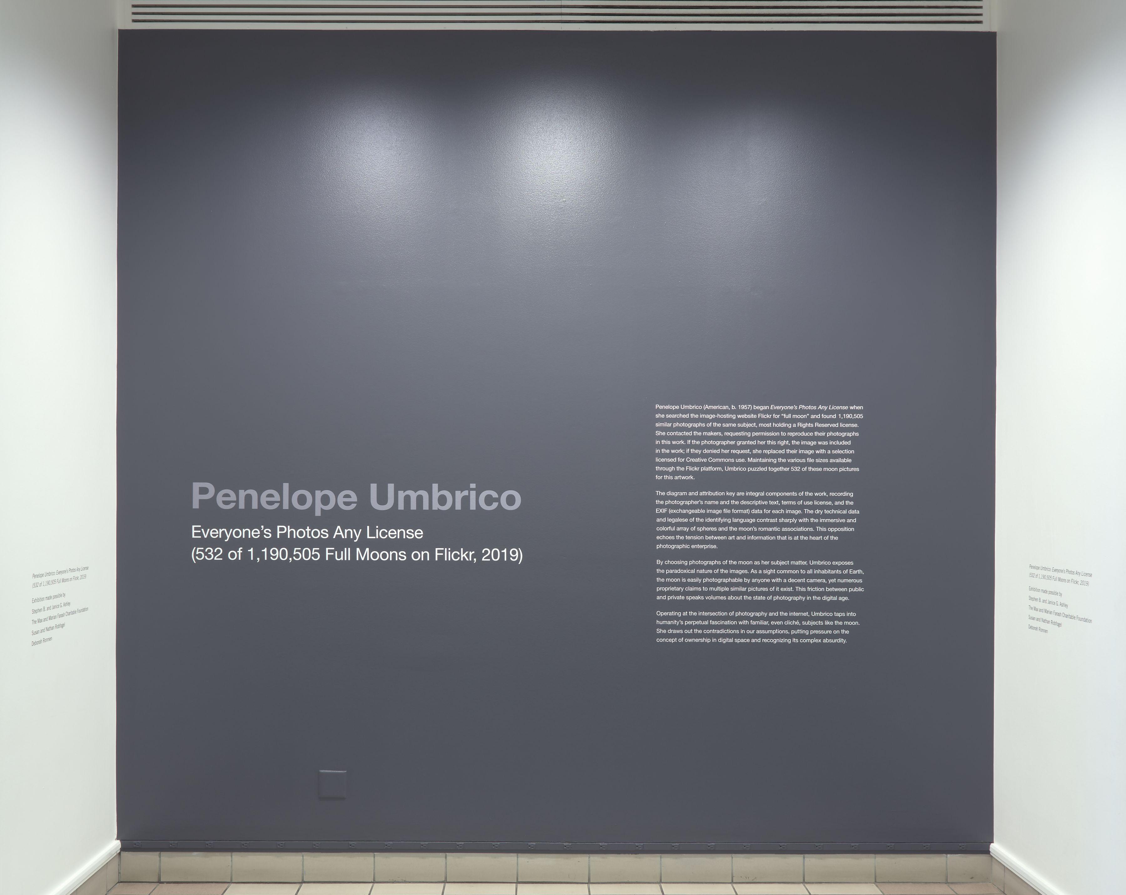 Penelope Umbrico | Everyone's Photo Any License