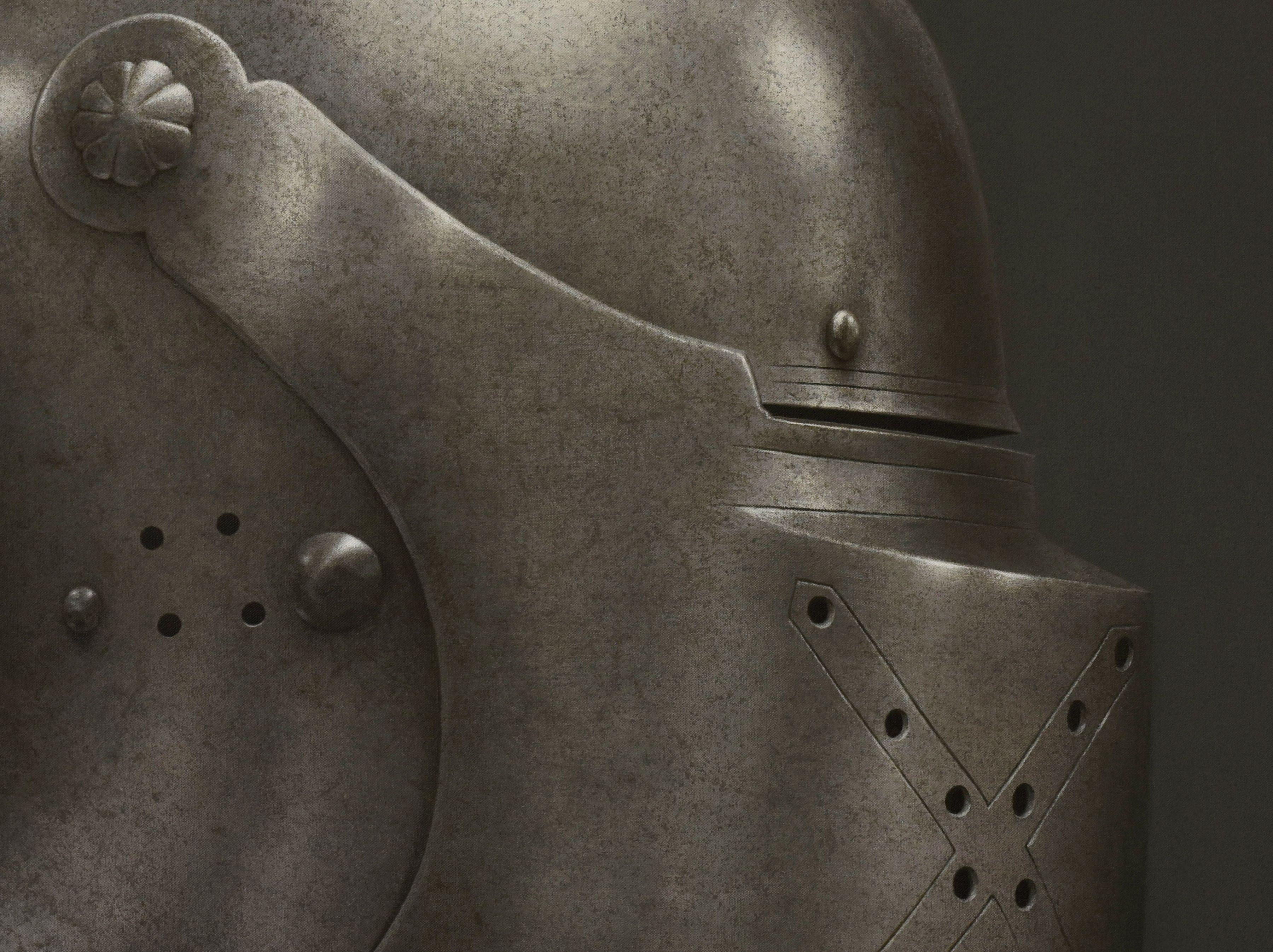 Helmet VI detail
