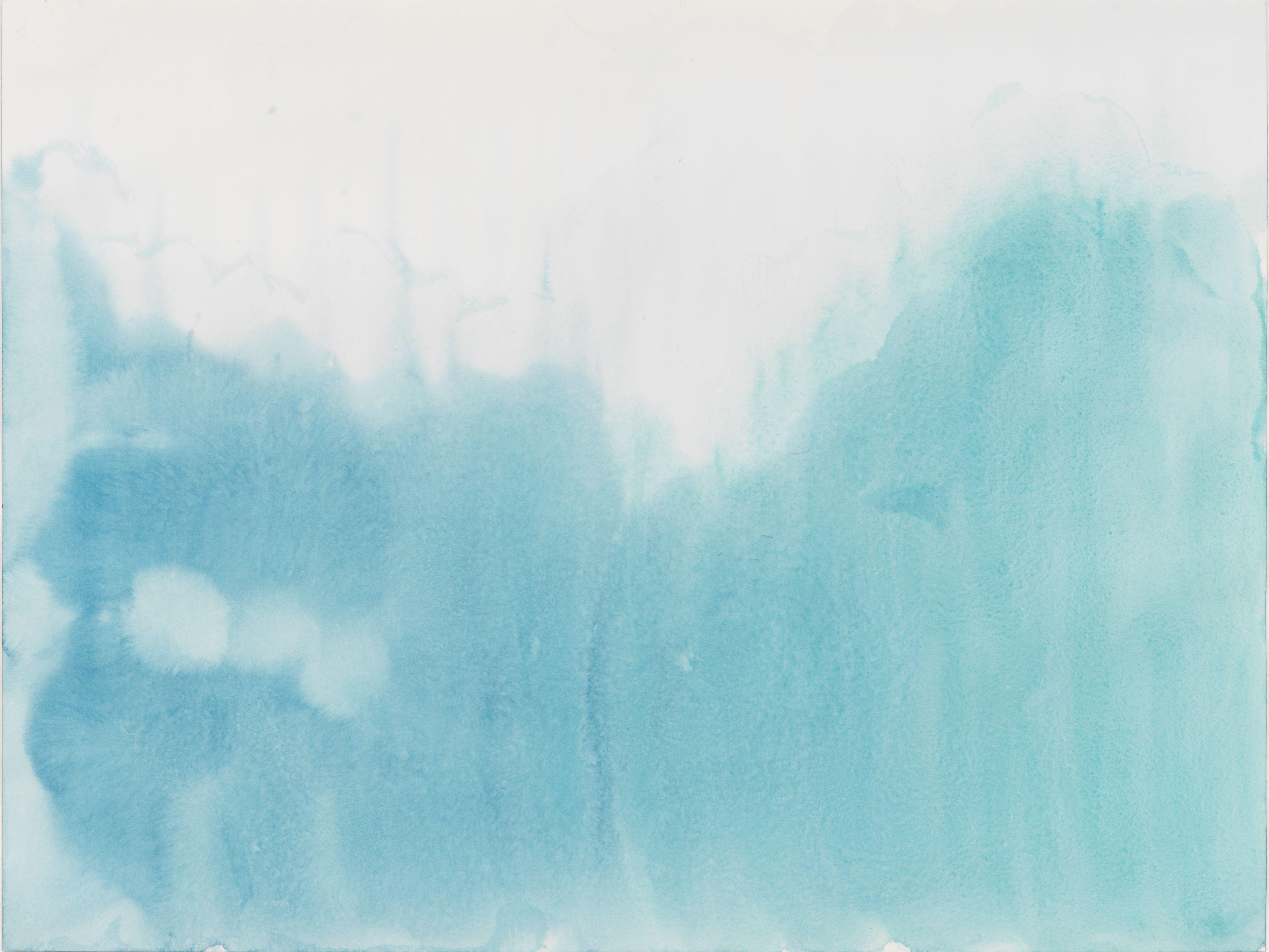 Markus Döbeli  Untitled, 2015  Watercolor on paper  46 x 61 cm