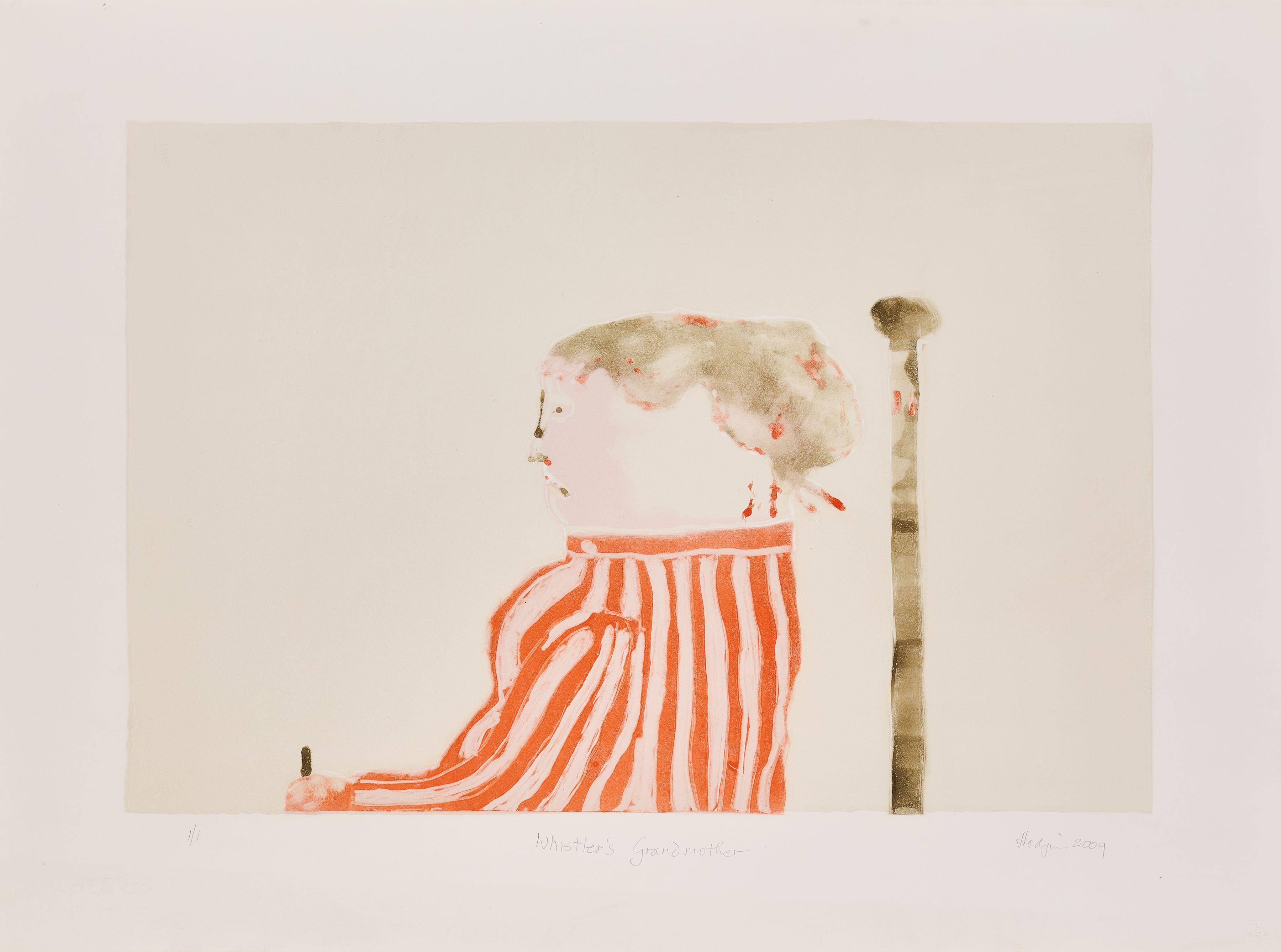 Robert Hodgins - Whistler's Grandmother